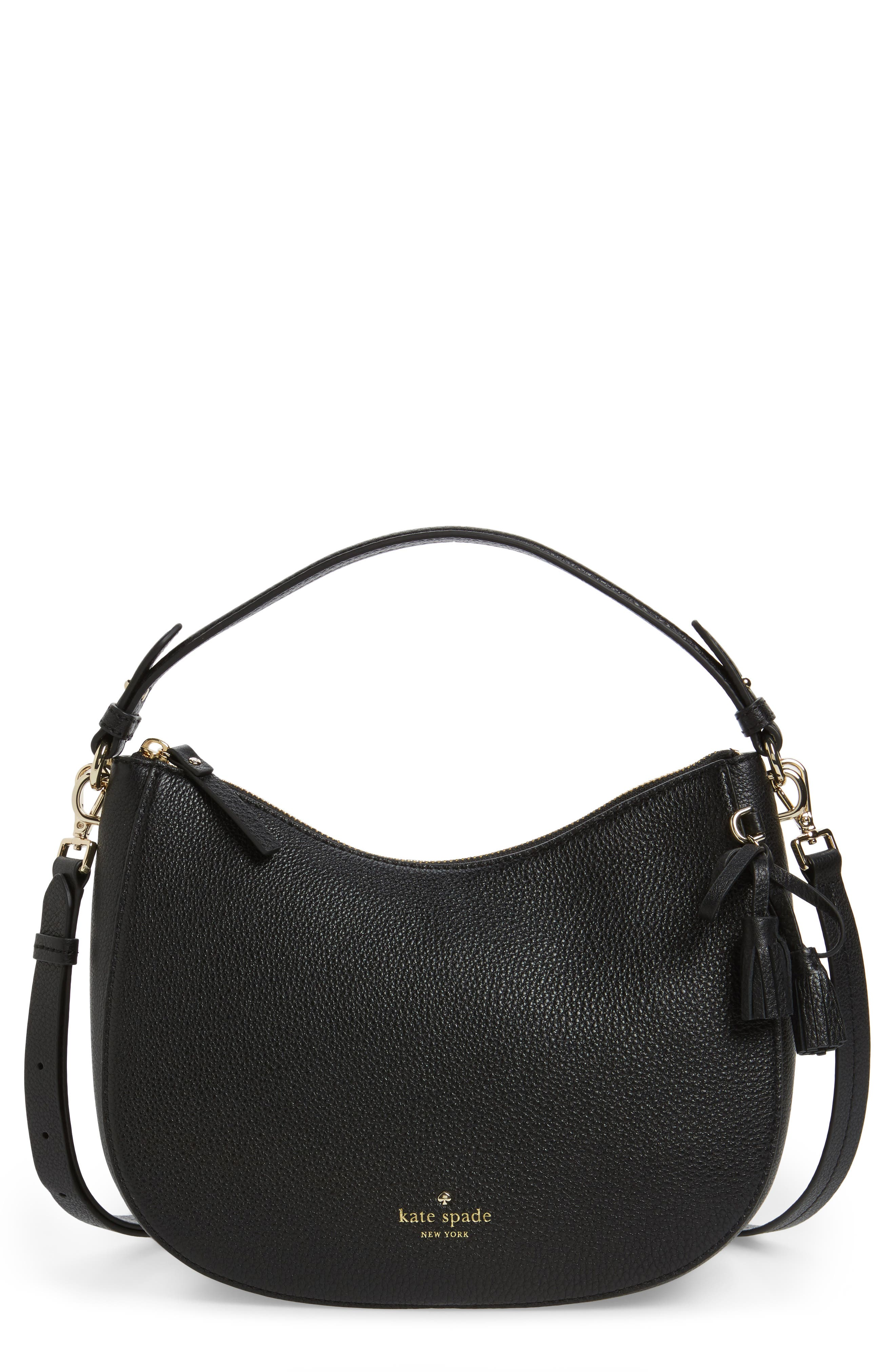 kate spade new york hayes street small aiden leather hobo