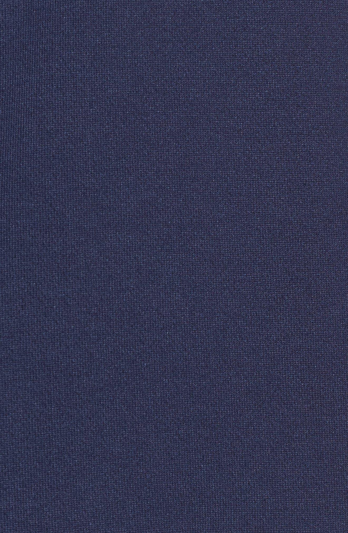 Alternate Image 5  - Halogen® Tie Sleeve Sweatshirt (Regular & Petite)