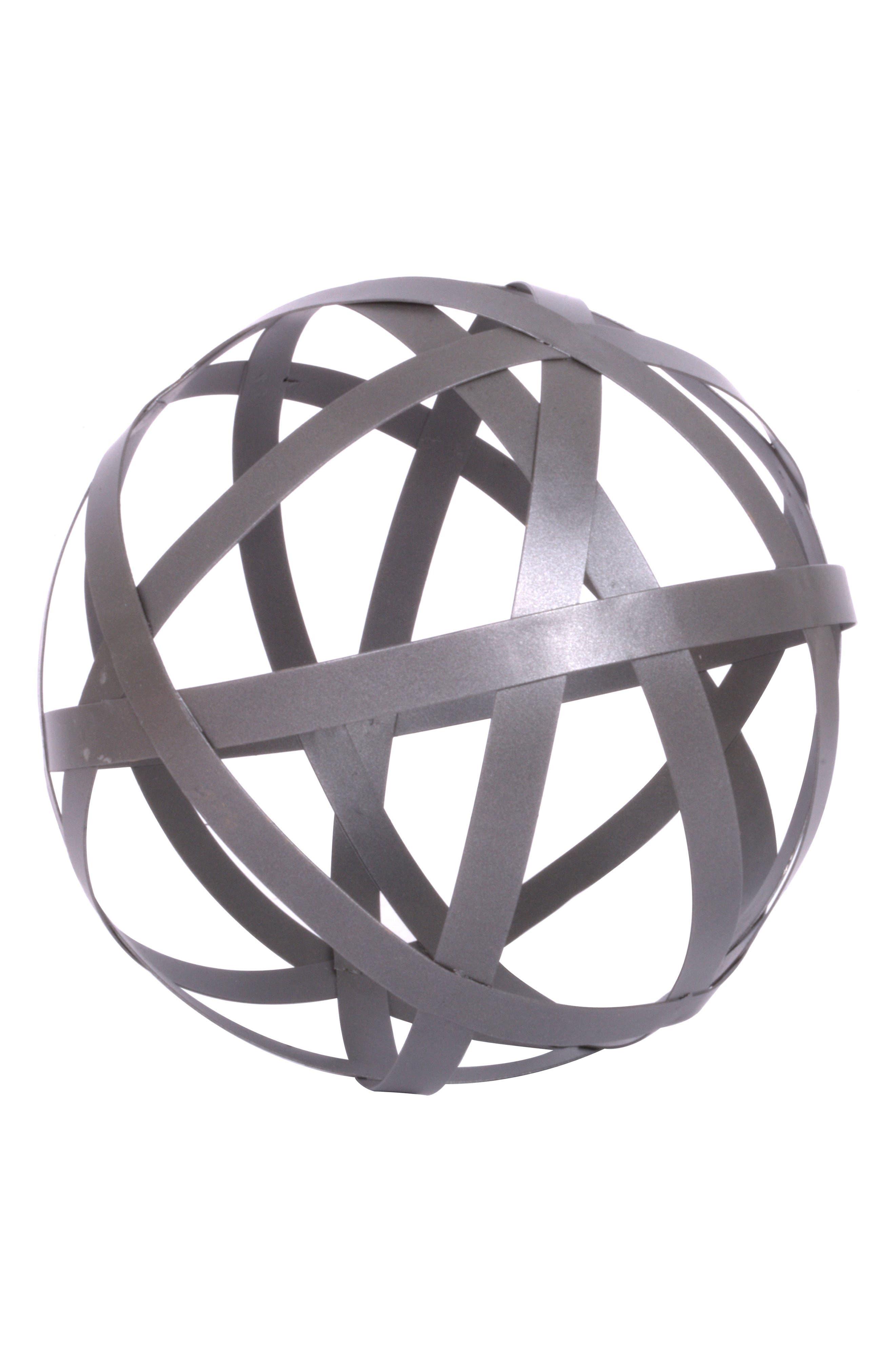 Crystal Art Gallery Metal Orb Tabletop Decoration
