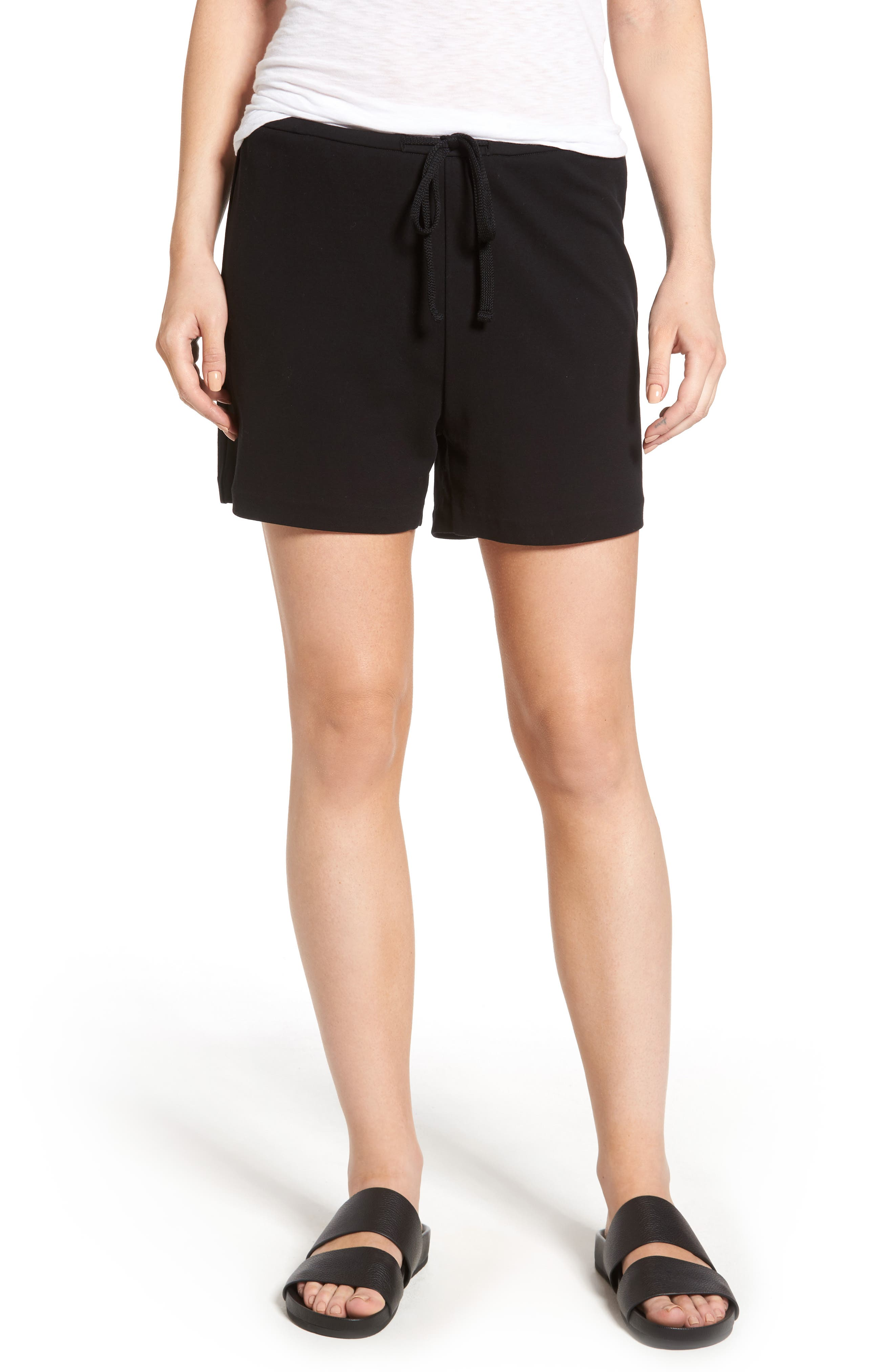 James Perse Matte Drawstring Shorts