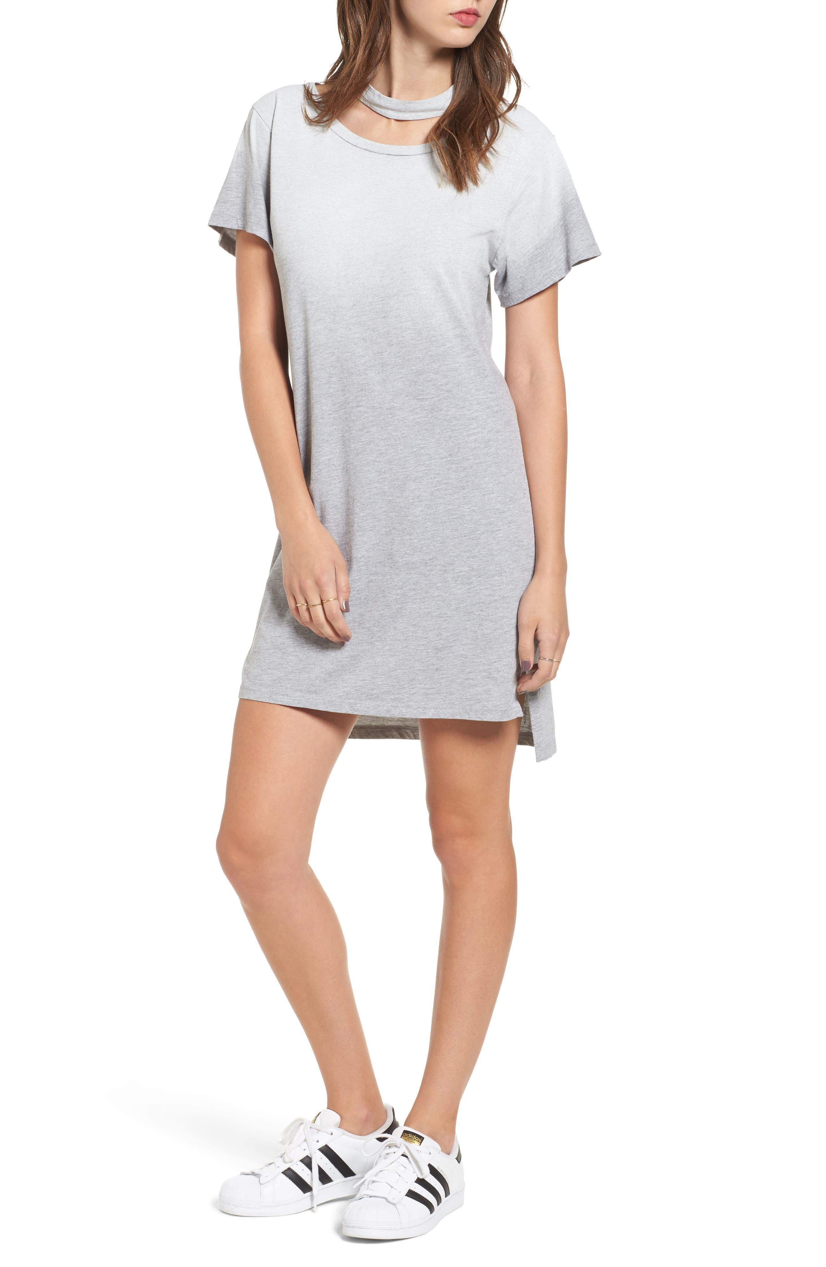 LNA Choker T-Shirt Dress