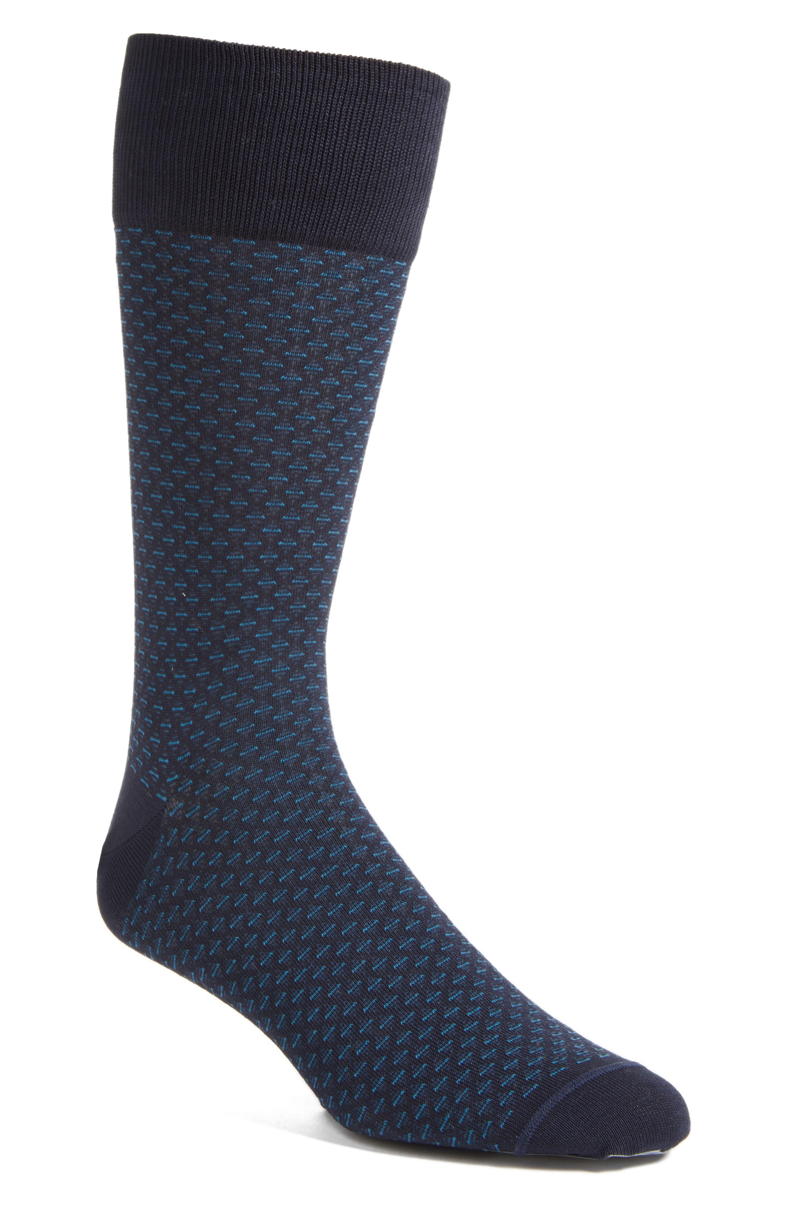 John W. Nordstrom® Diamond Socks