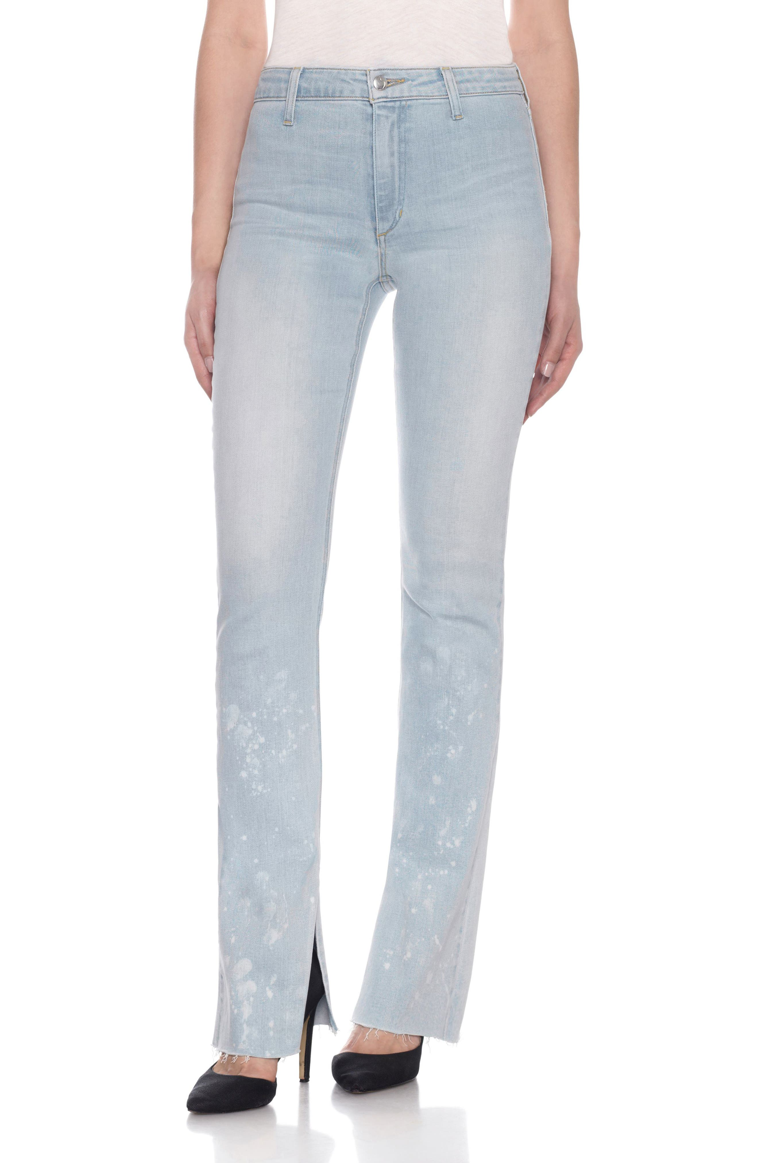 Joe's Collectors - Micro Flare Split Raw Hem Jeans (Marlene)