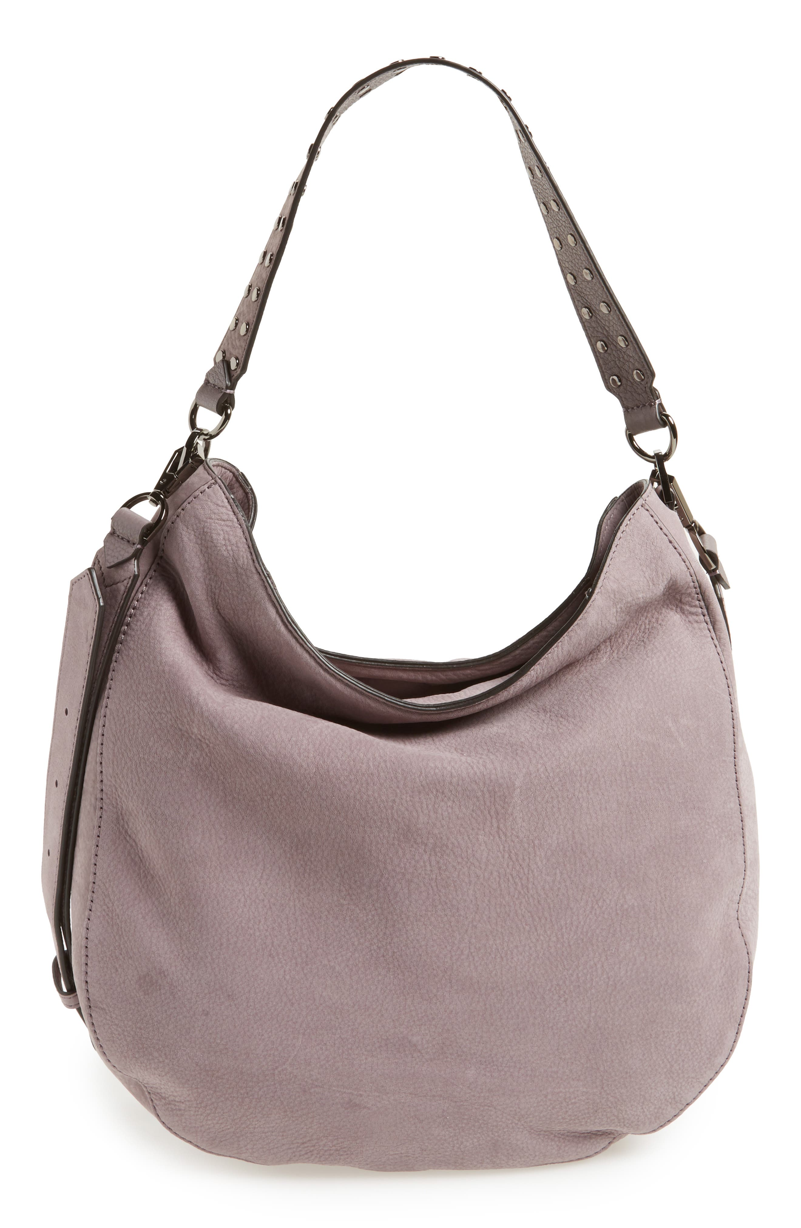 Rebecca Minkoff Converible Nubuck Hobo (Nordstrom Exclusive)