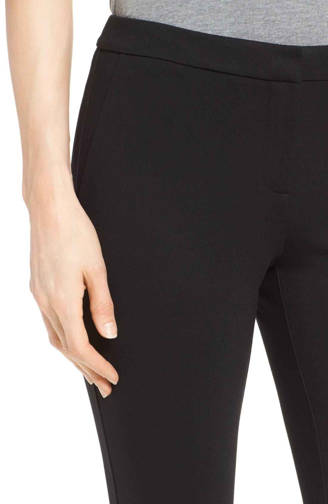 Alternate Image 6  - Halogen® Kick Flare Knit Ankle Pants (Regular & Petite)