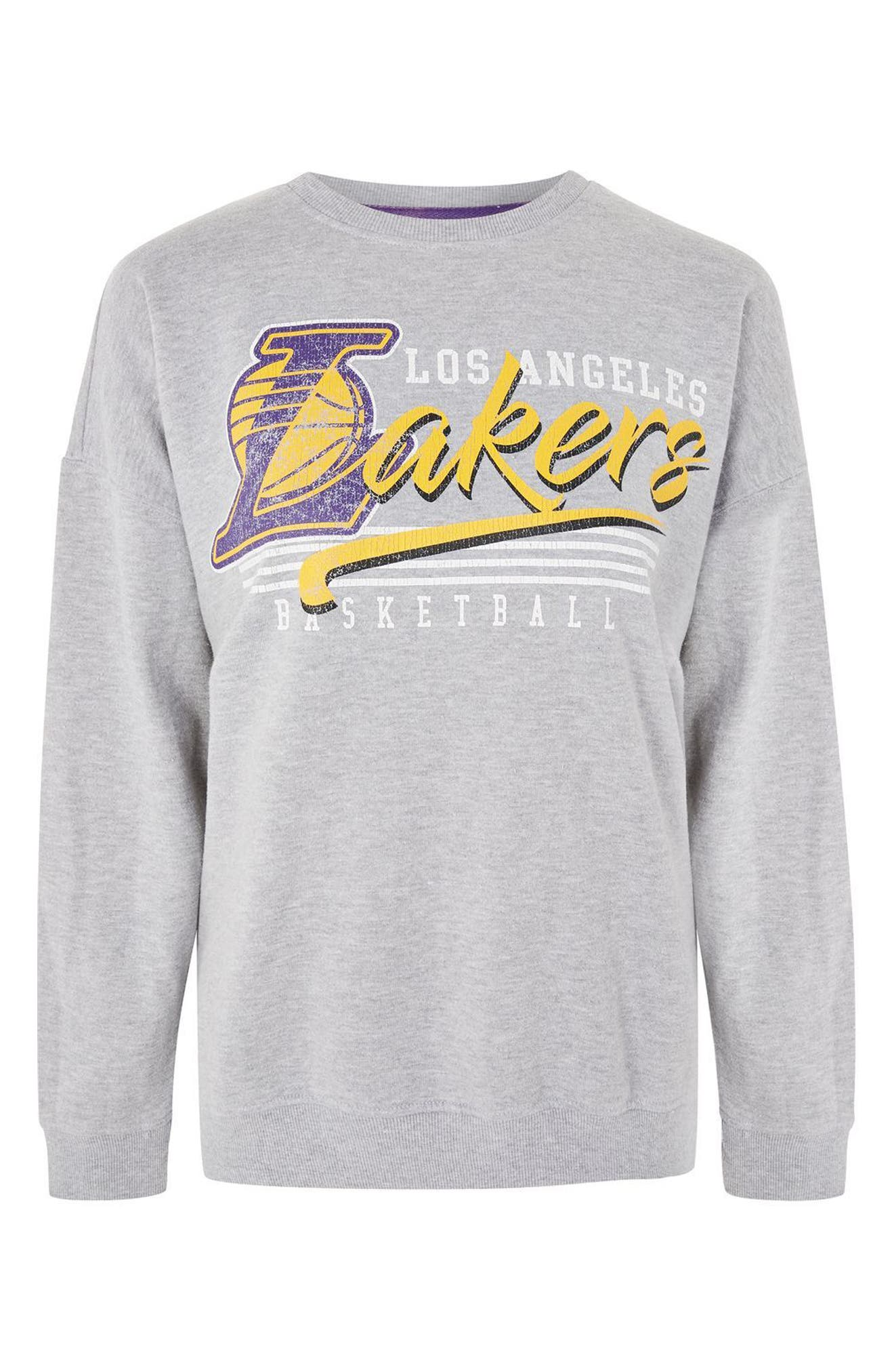 Topshop by UNK Los Angeles Lakers Sweatshirt