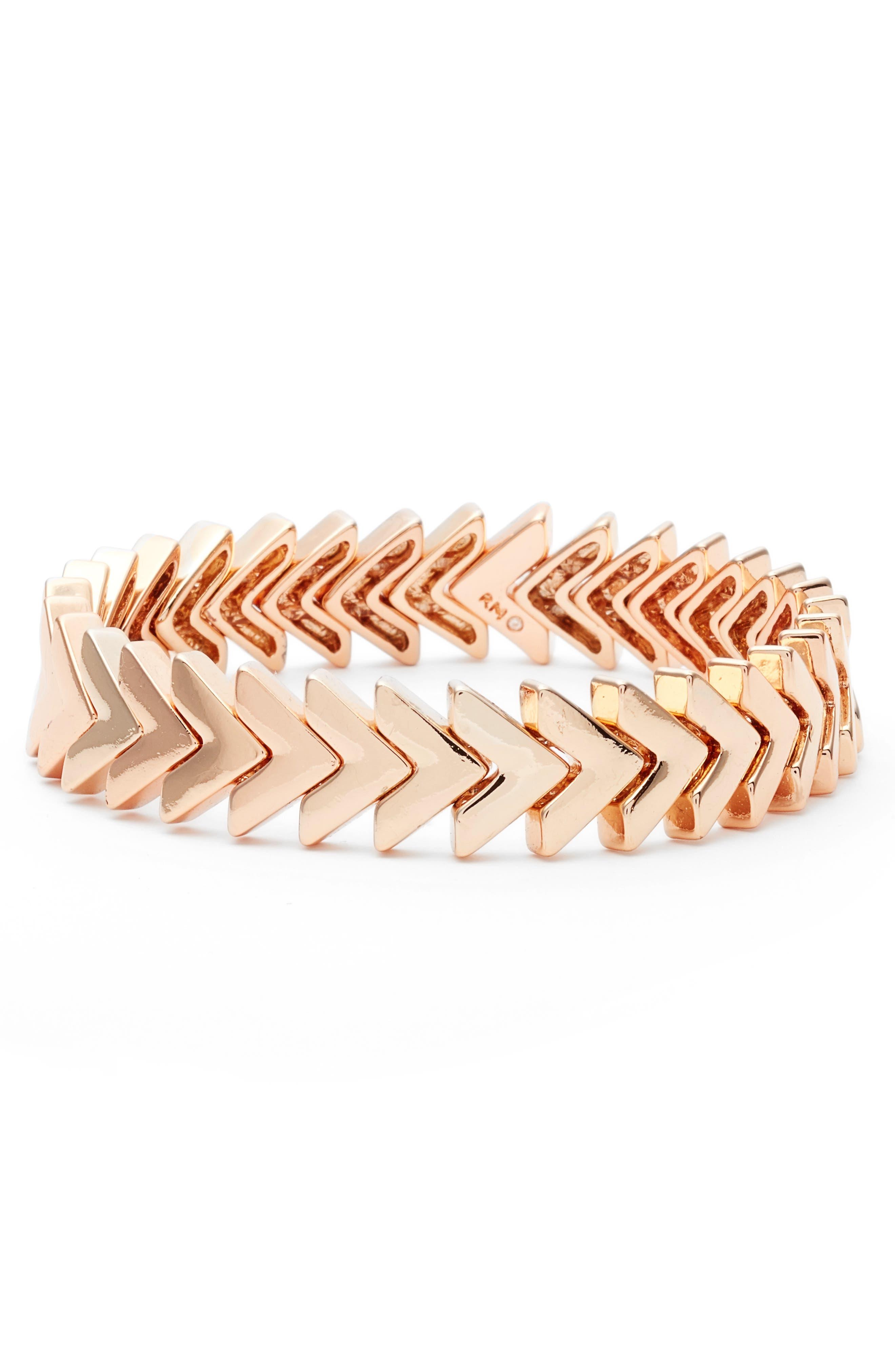 Rebecca Minkoff Chevron Bracelet