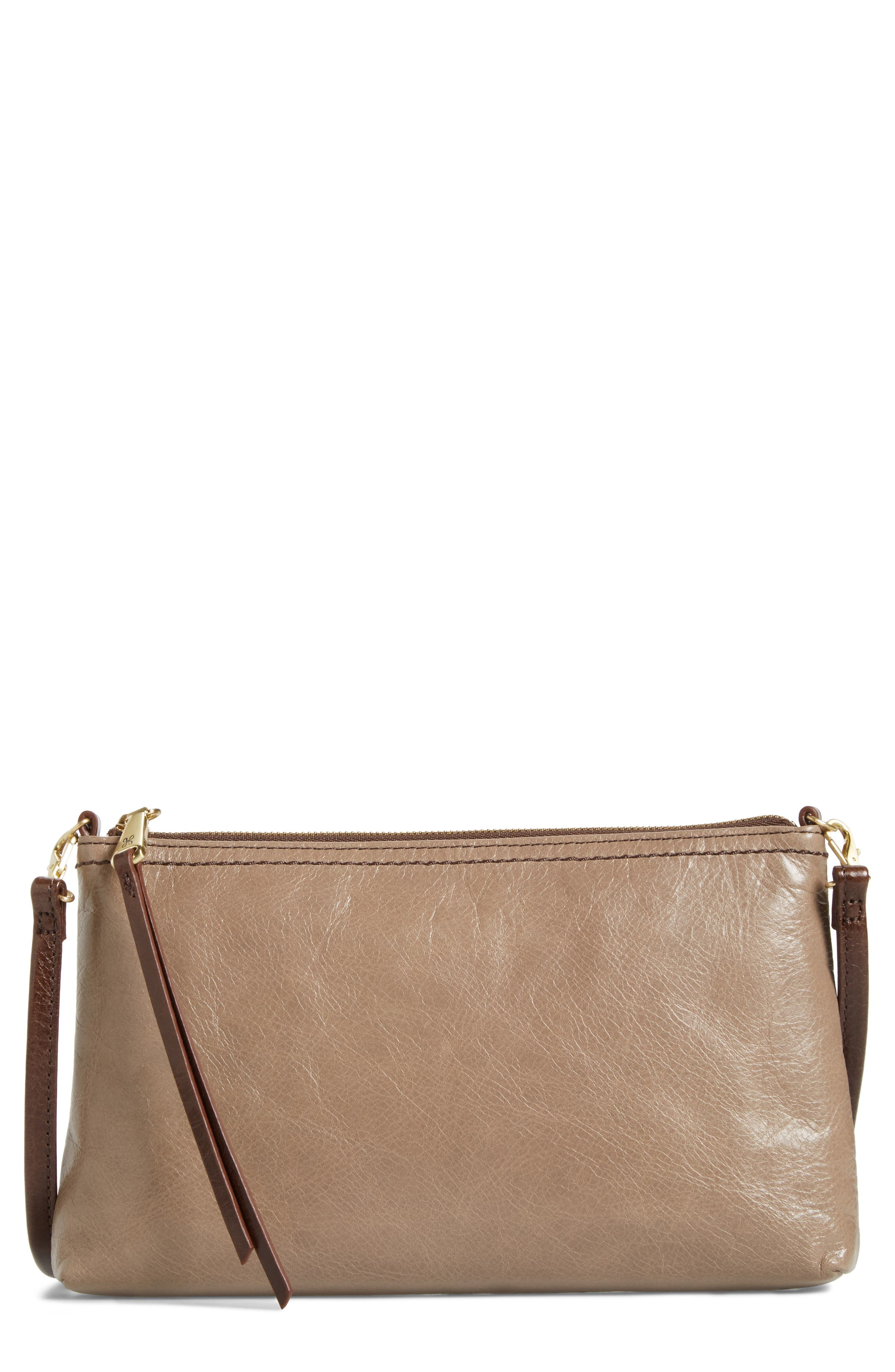 Alternate Image 1 Selected - Hobo 'Darcy' Leather Crossbody Bag