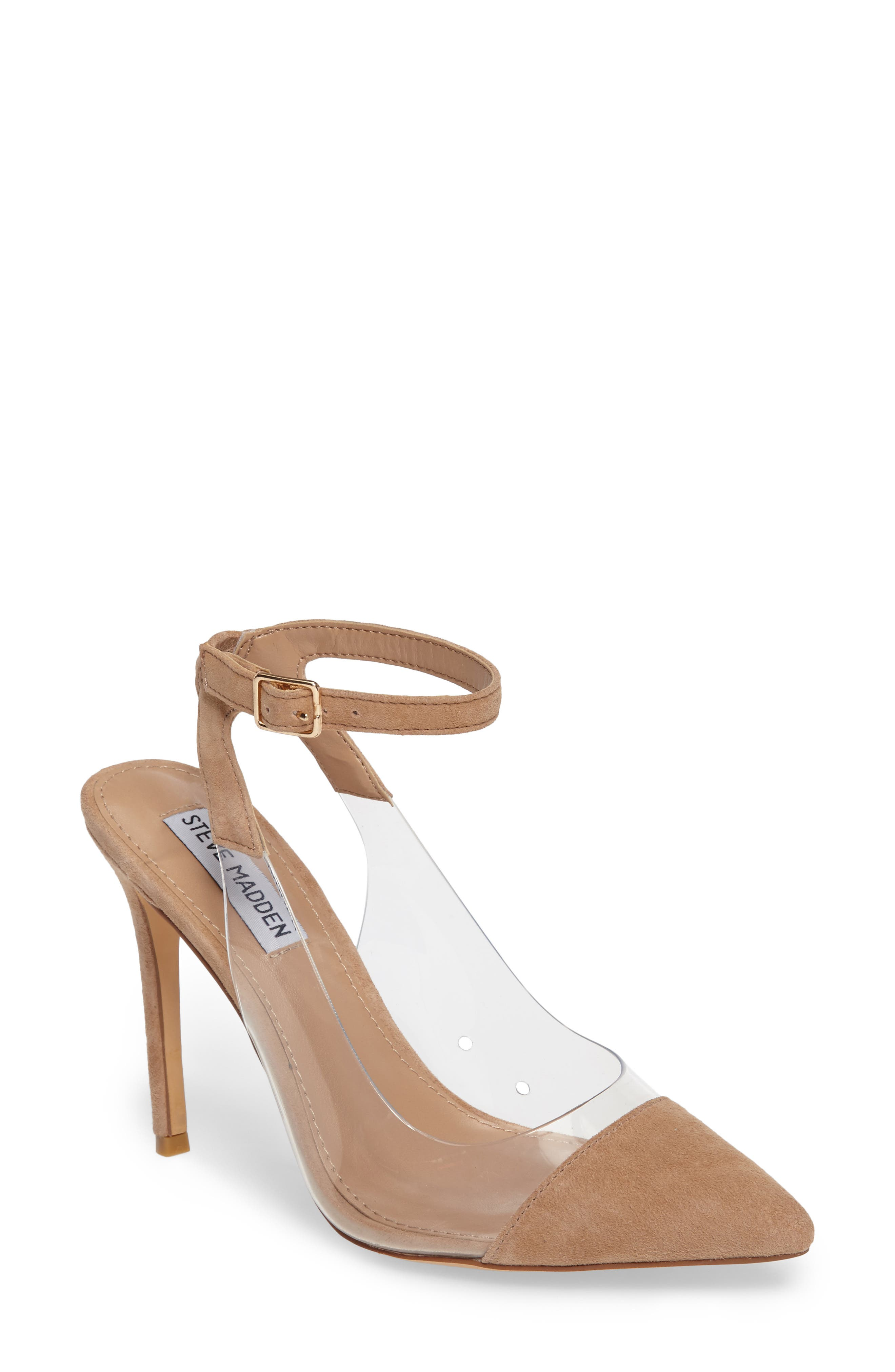 Steve Madden Wave Clear Inset Pump (Women)