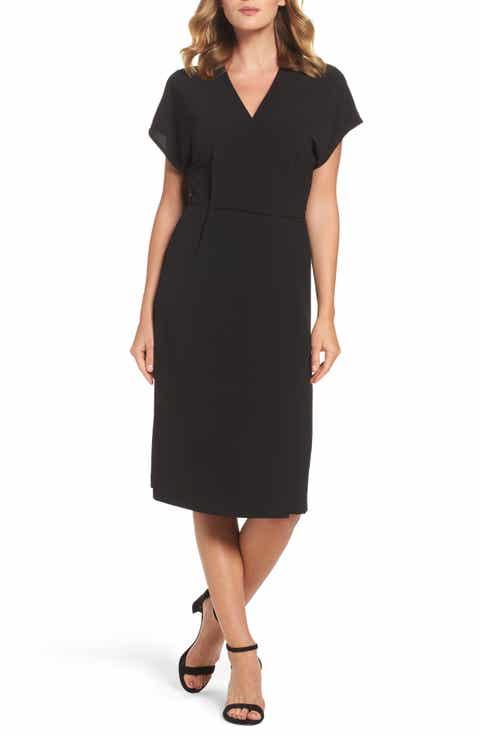 Little Black Dresses: Pleated, Jersey & Draped   Nordstrom