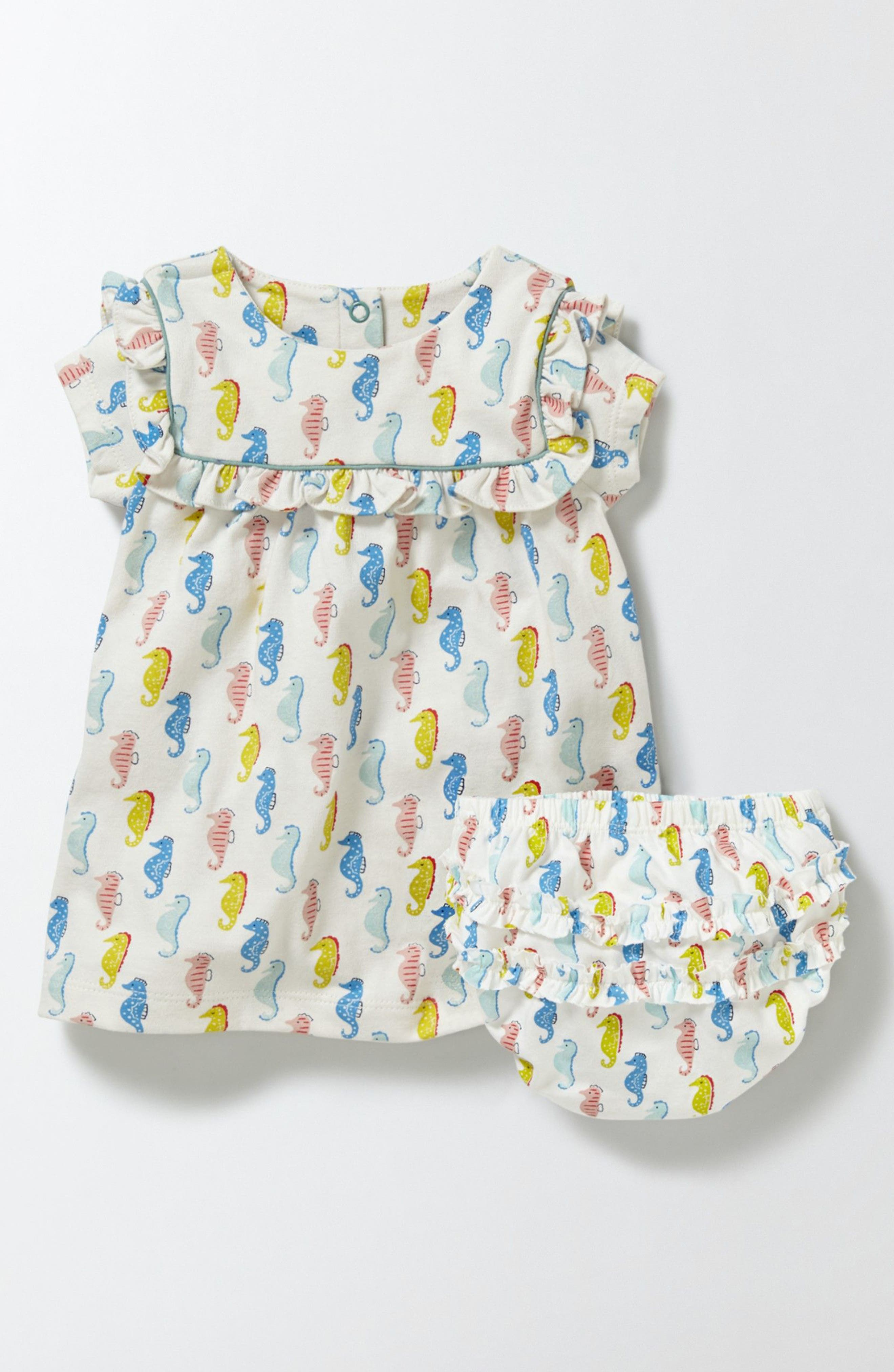 Mini Boden Pretty Print Dress (Baby Girls & Toddler Girls)