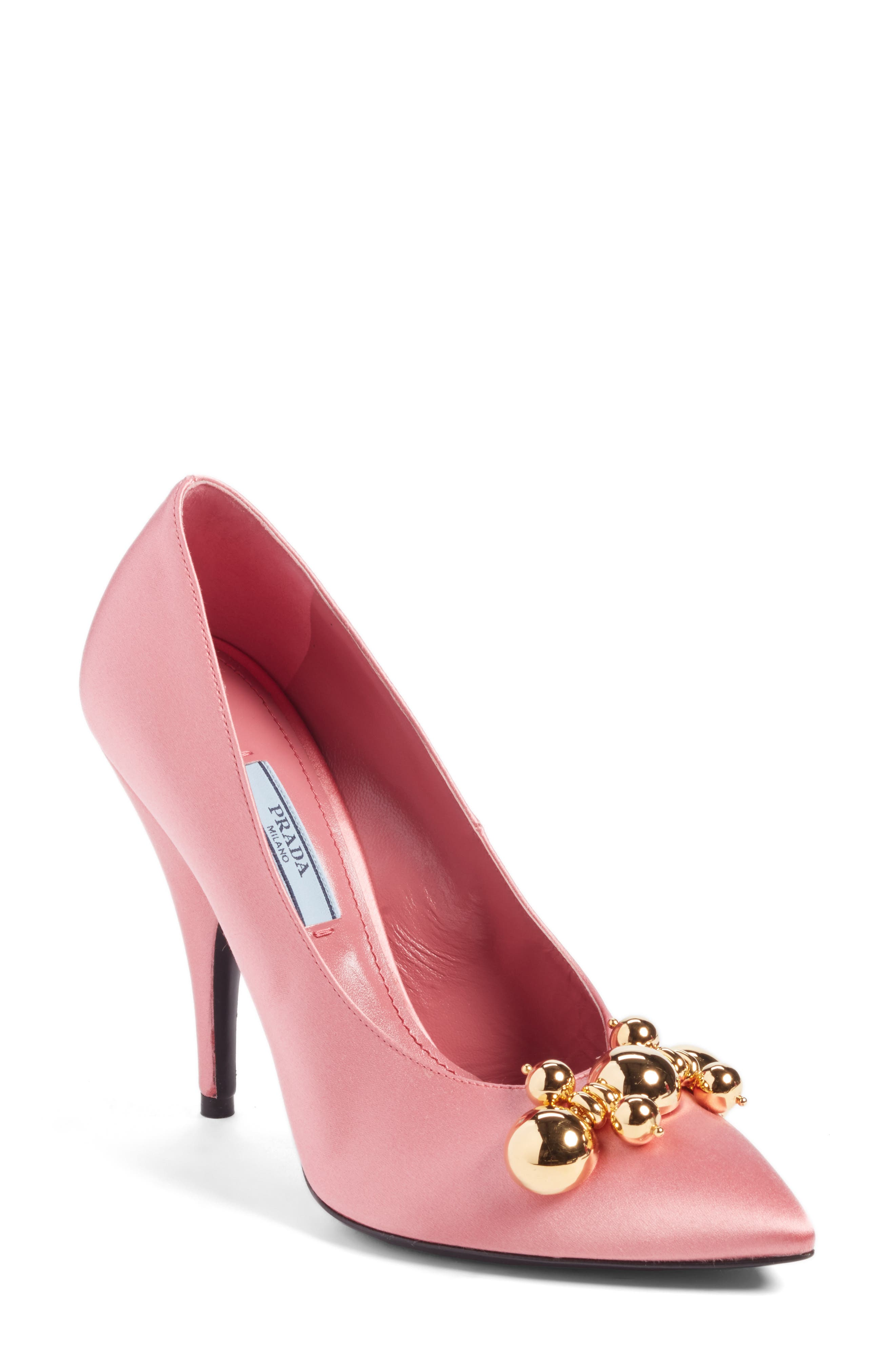 Prada Embellished Pump (Women)