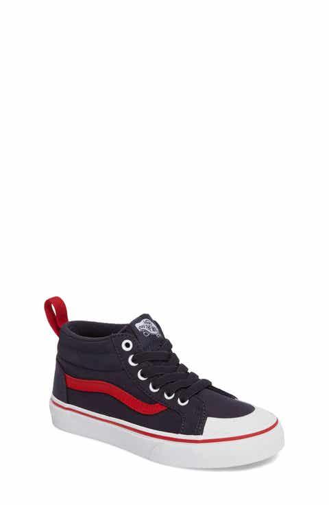 Vans Racer Mid Elastic Lace Sneaker (Baby, Walker, Toddler, Little Kid   Big Kid)