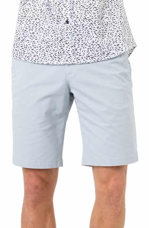 7 Diamonds Slim Fit Brushed Twill Shorts