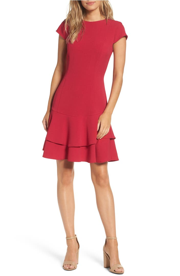 Eliza j stretch crepe sheath dress regular petite for Nordstrom custom dress shirts