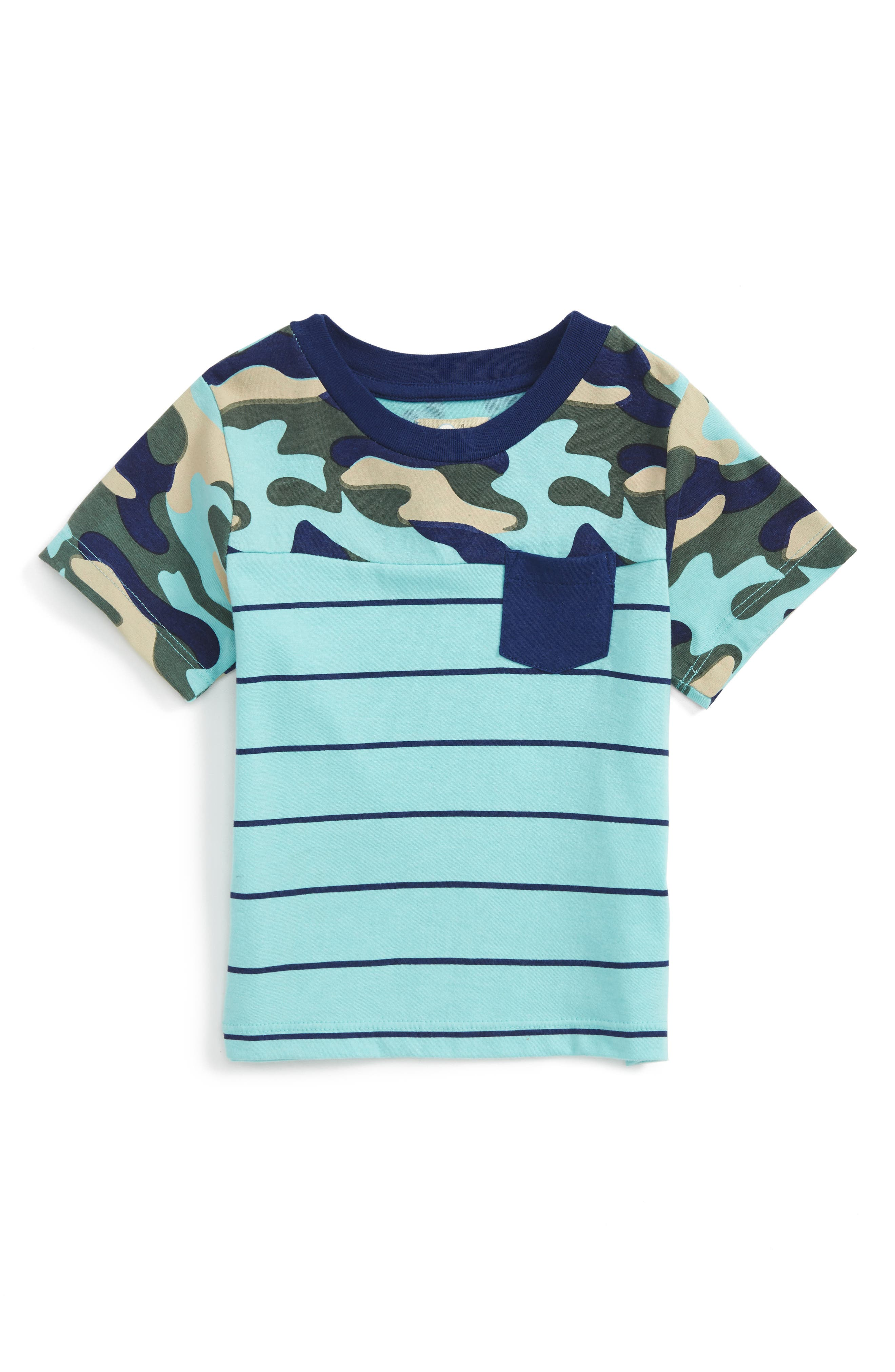 Peek Brett Camo Stripe T-Shirt (Baby Boys)