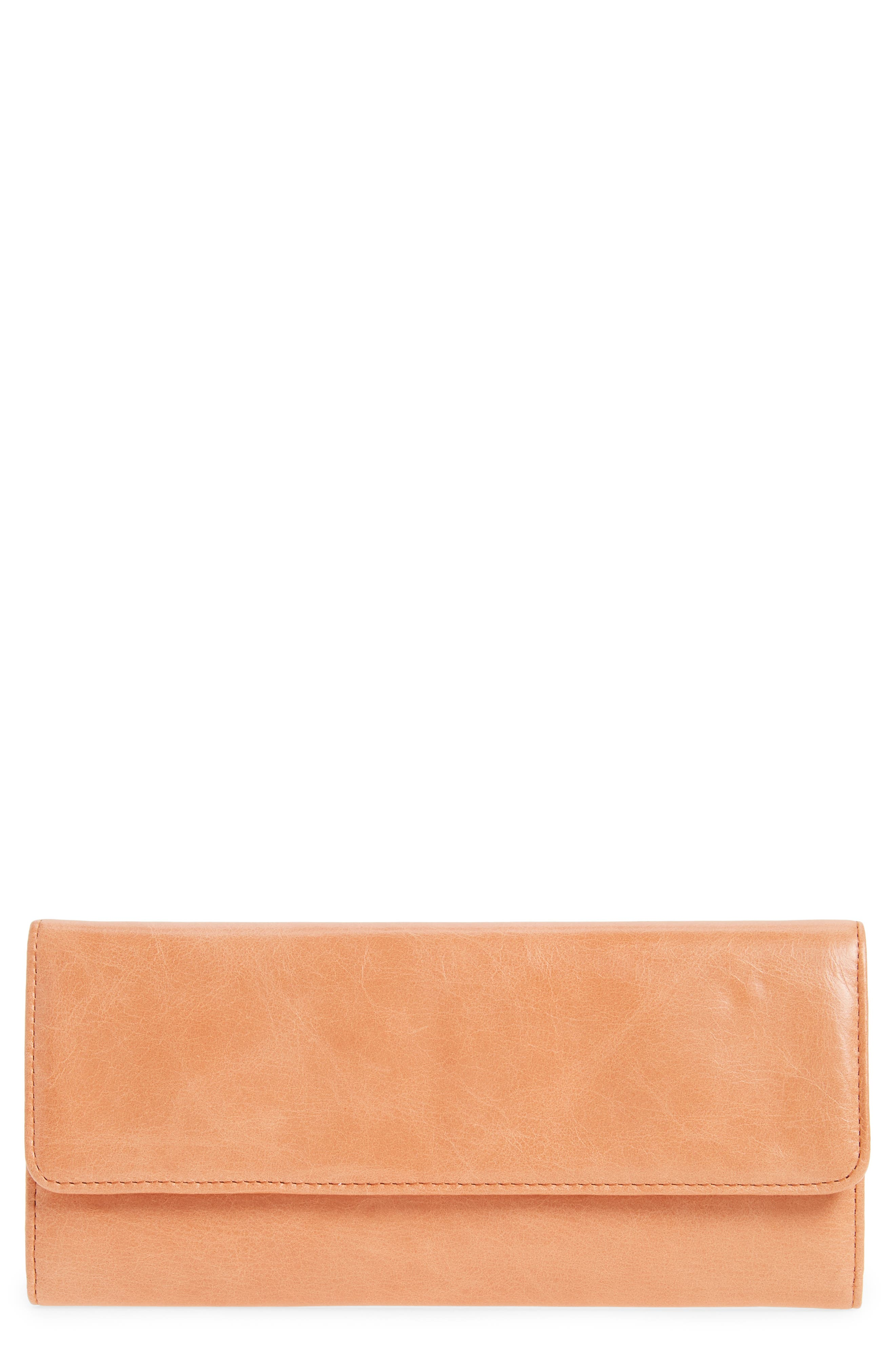 Alternate Image 1 Selected - Hobo 'Sadie' Leather Wallet