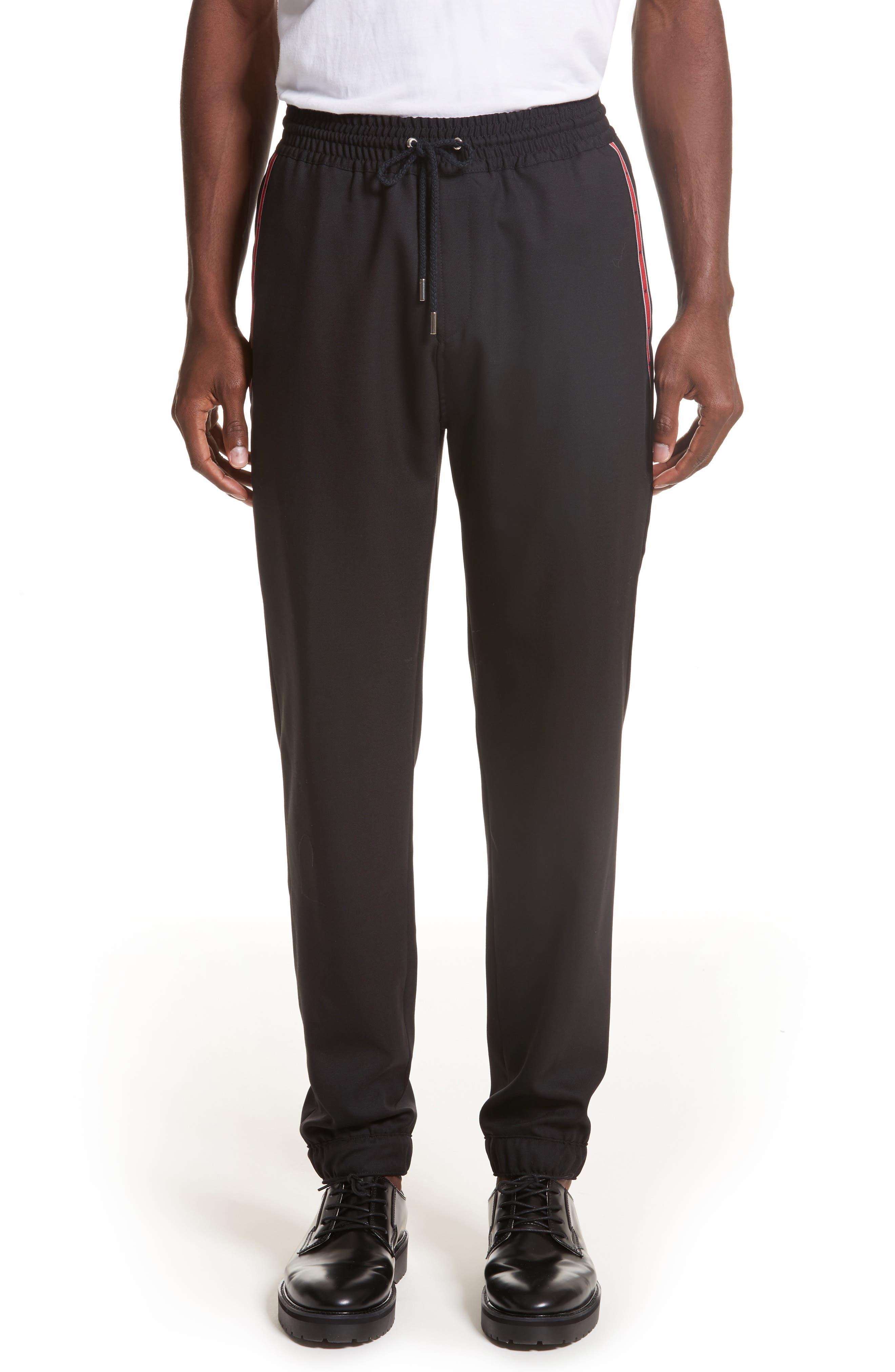 Givenchy Star Grosgain Wool Pants