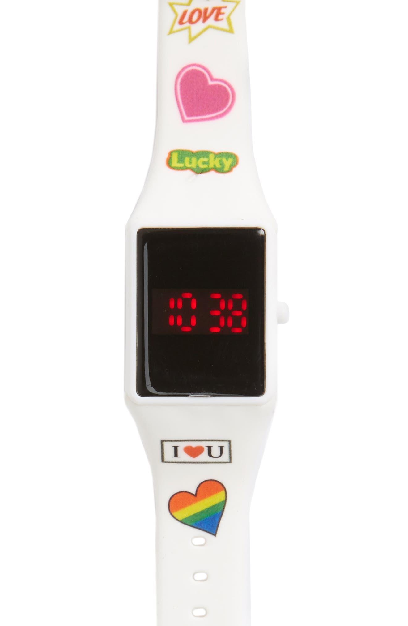 Titanium Touchscreen LED Watch (Girls)