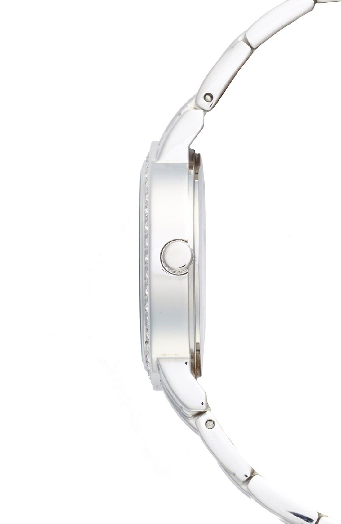 Alternate Image 2  - Game Time Watches 'NFL All Star - Dallas Cowboys' Crystal Bezel Bracelet Watch, 32mm