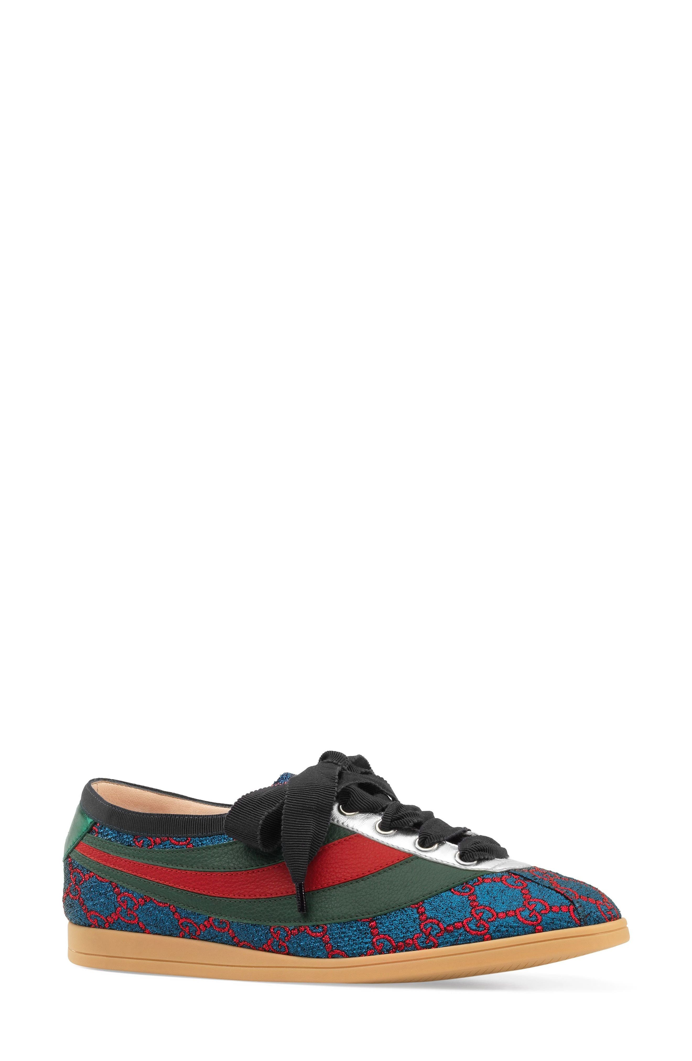 Gucci Competition Metallic GG Supreme Sneaker (Women)