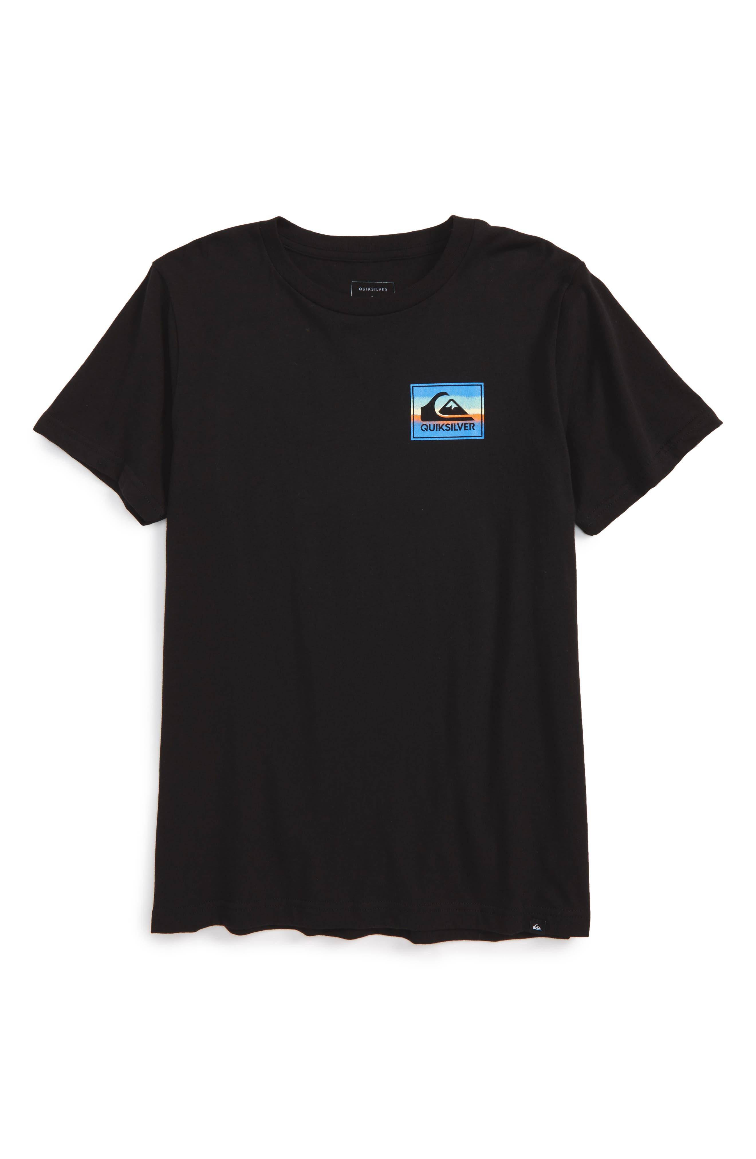 Quiksilver Logo Graphic T-Shirt (Big Boys)