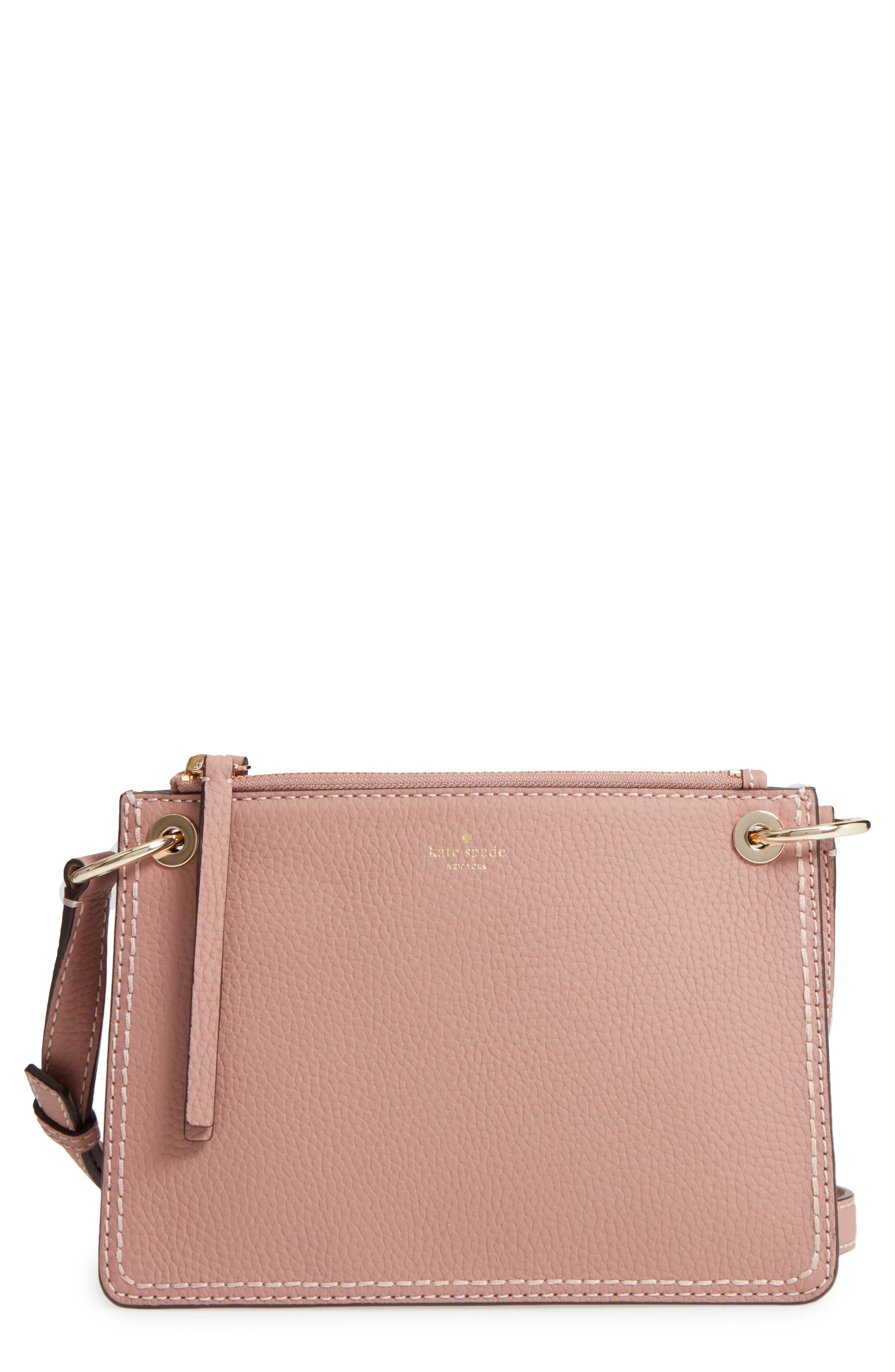 kate spade new york dunne lane - caro leather crossbody bag