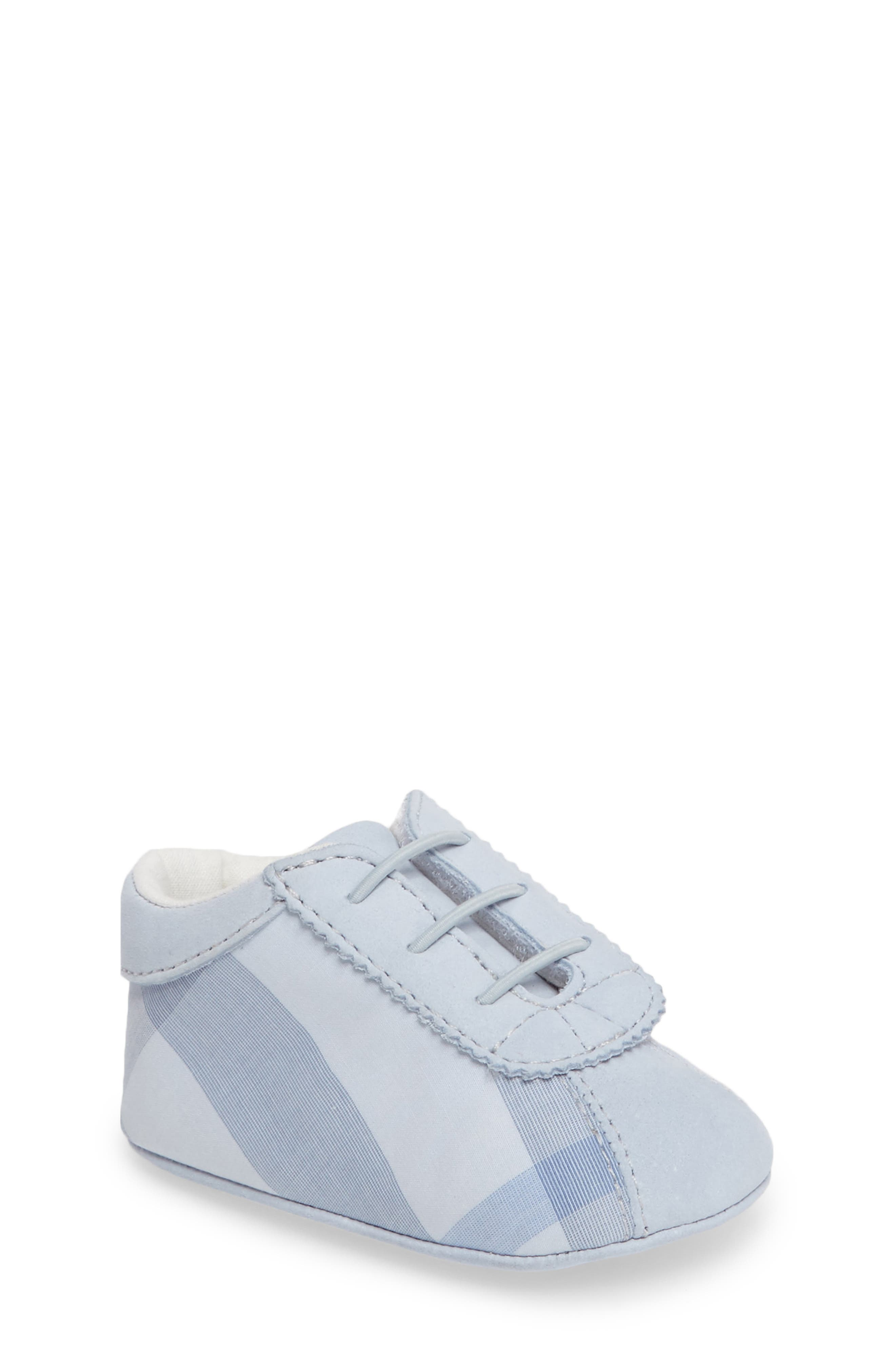 Burberry 'Bosco' Crib Shoe (Baby)