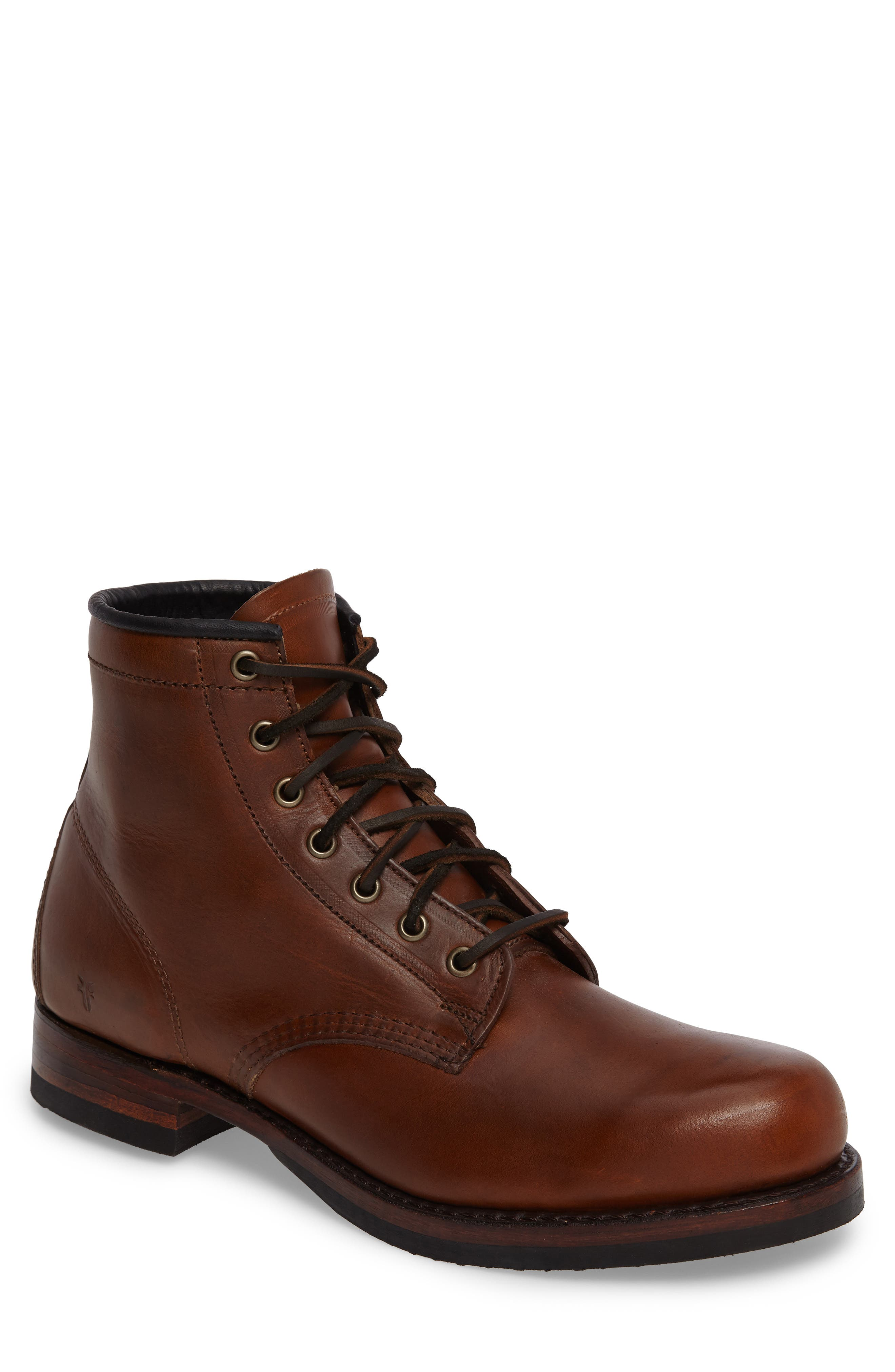 Frye John Addison Plain Toe Boot (Men)