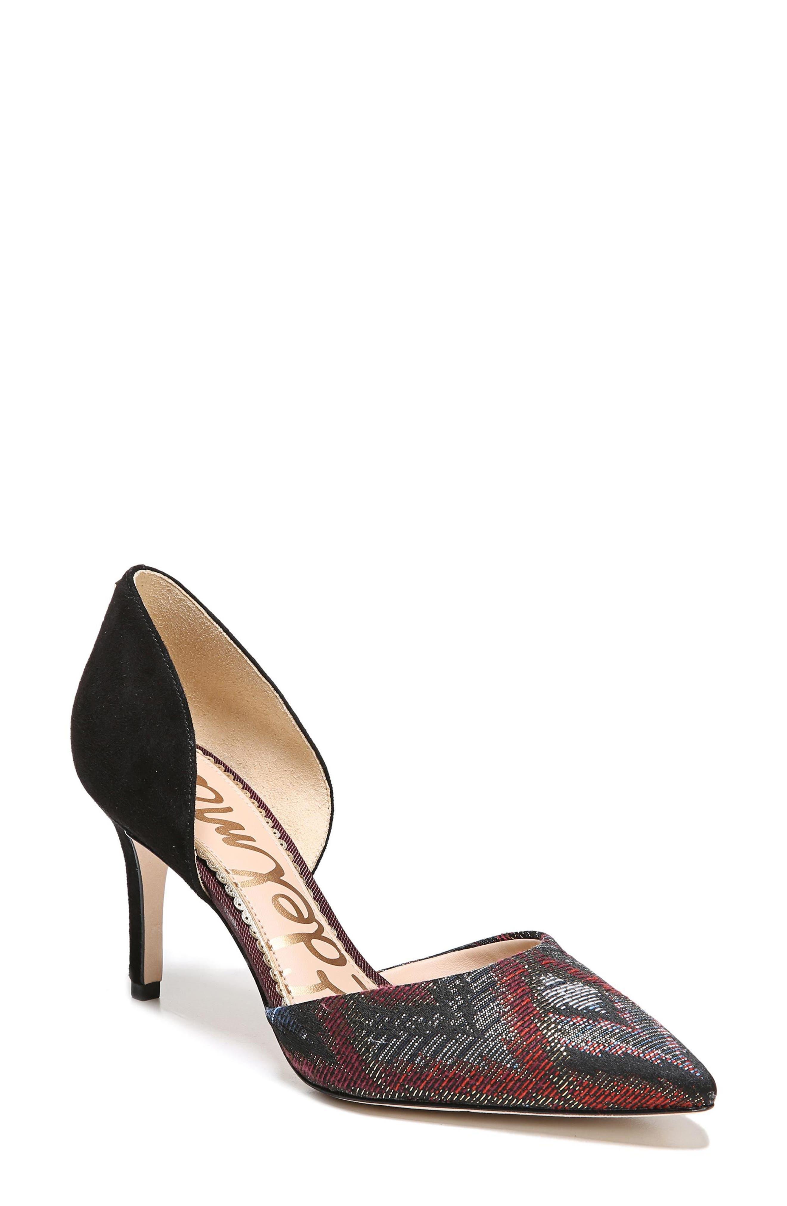 Alternate Image 1 Selected - Sam Edelman 'Telsa' d'Orsay Pointy Toe Pump (Women)