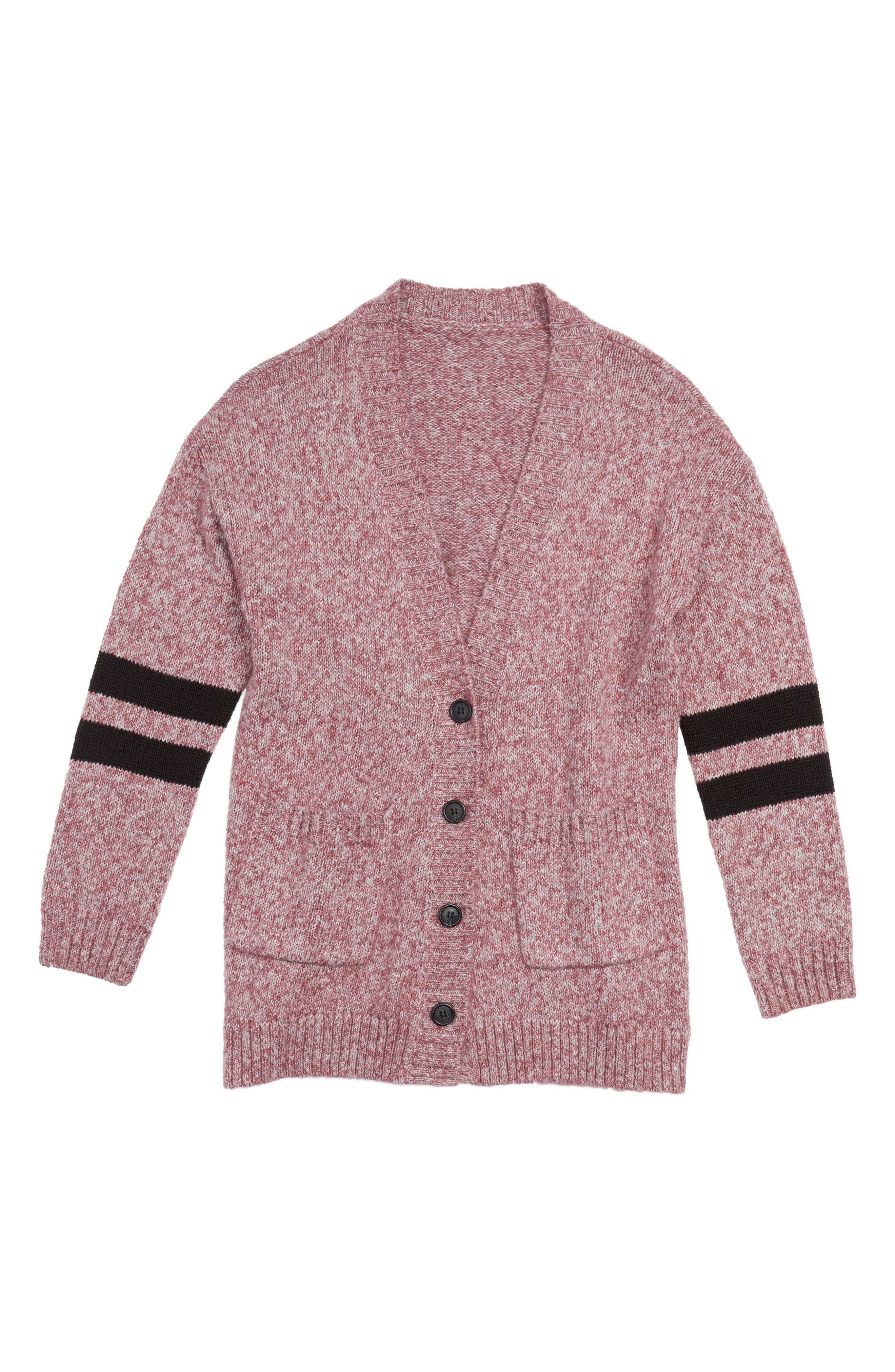 Treasure & Bond Varsity Cardigan (Big Girls)