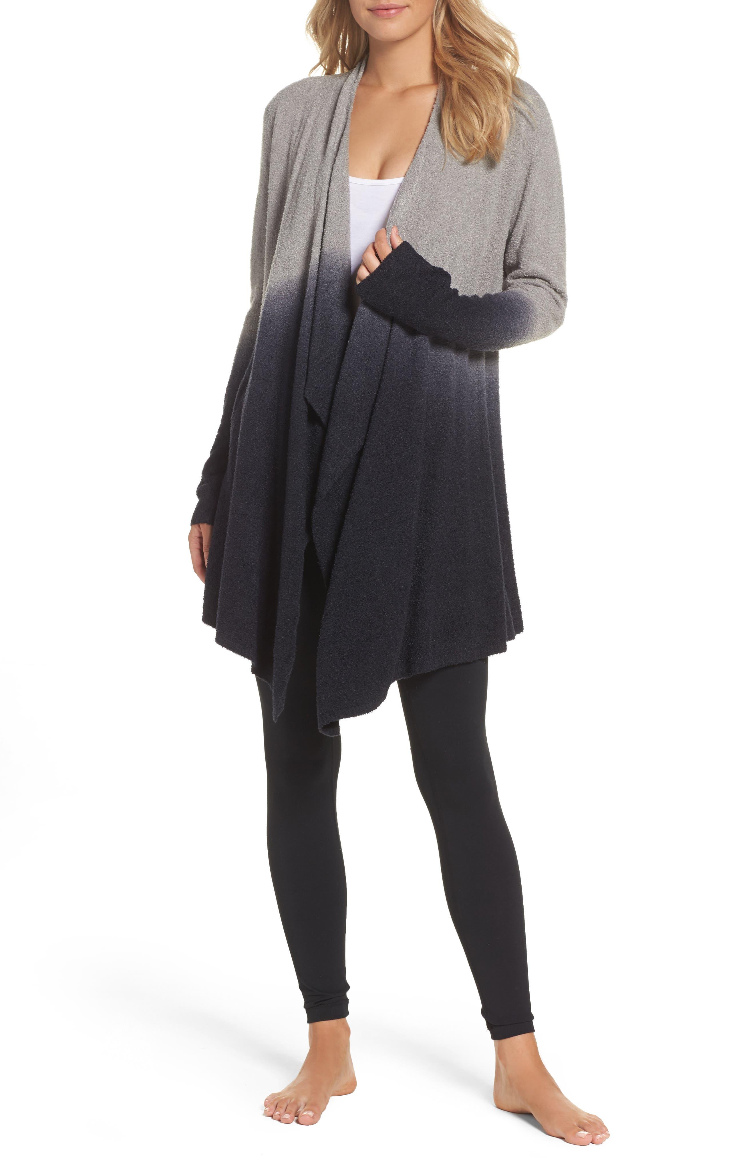 Alternate Image 1 Selected - Barefoot Dreams® CozyChic Lite® Calypso Wrap Cardigan (Nordstrom Exclusive)