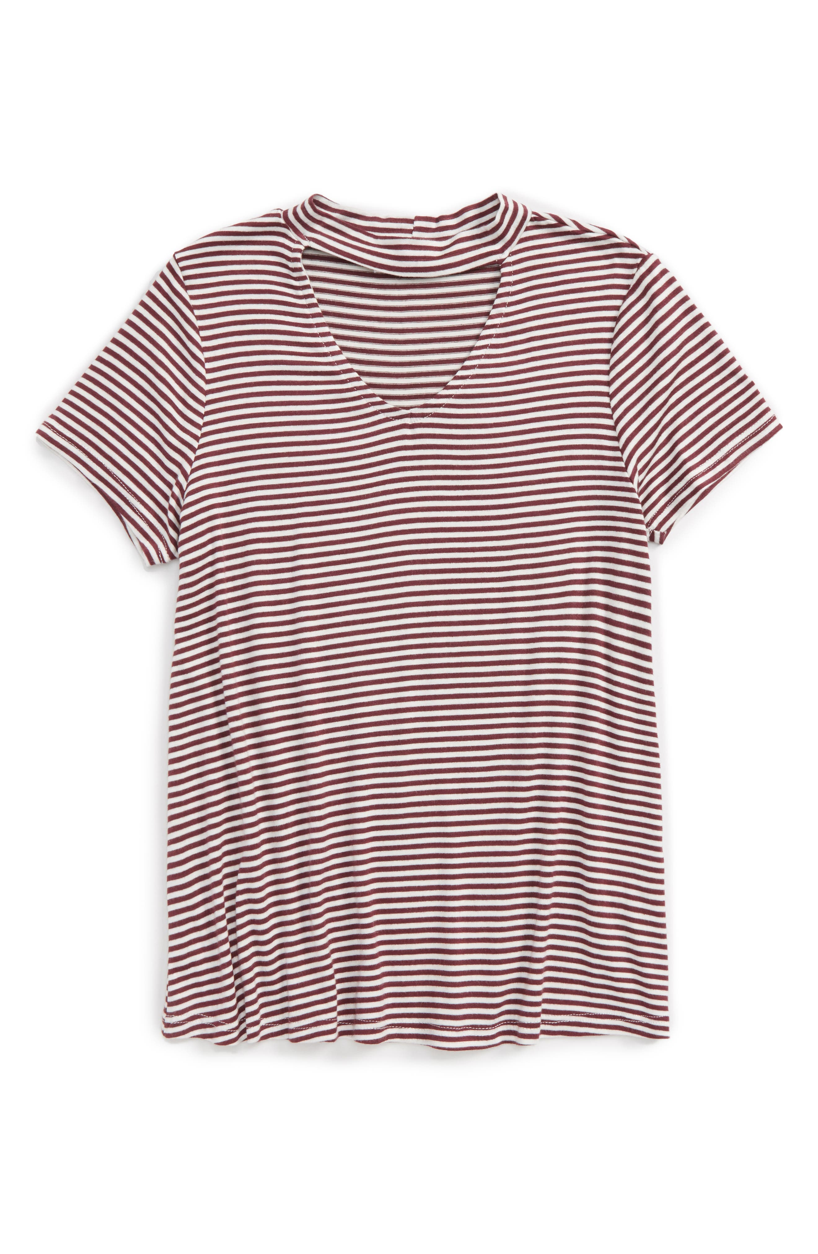 Ten Sixty Sherman Gigi Cutout Tee (Big Girls)