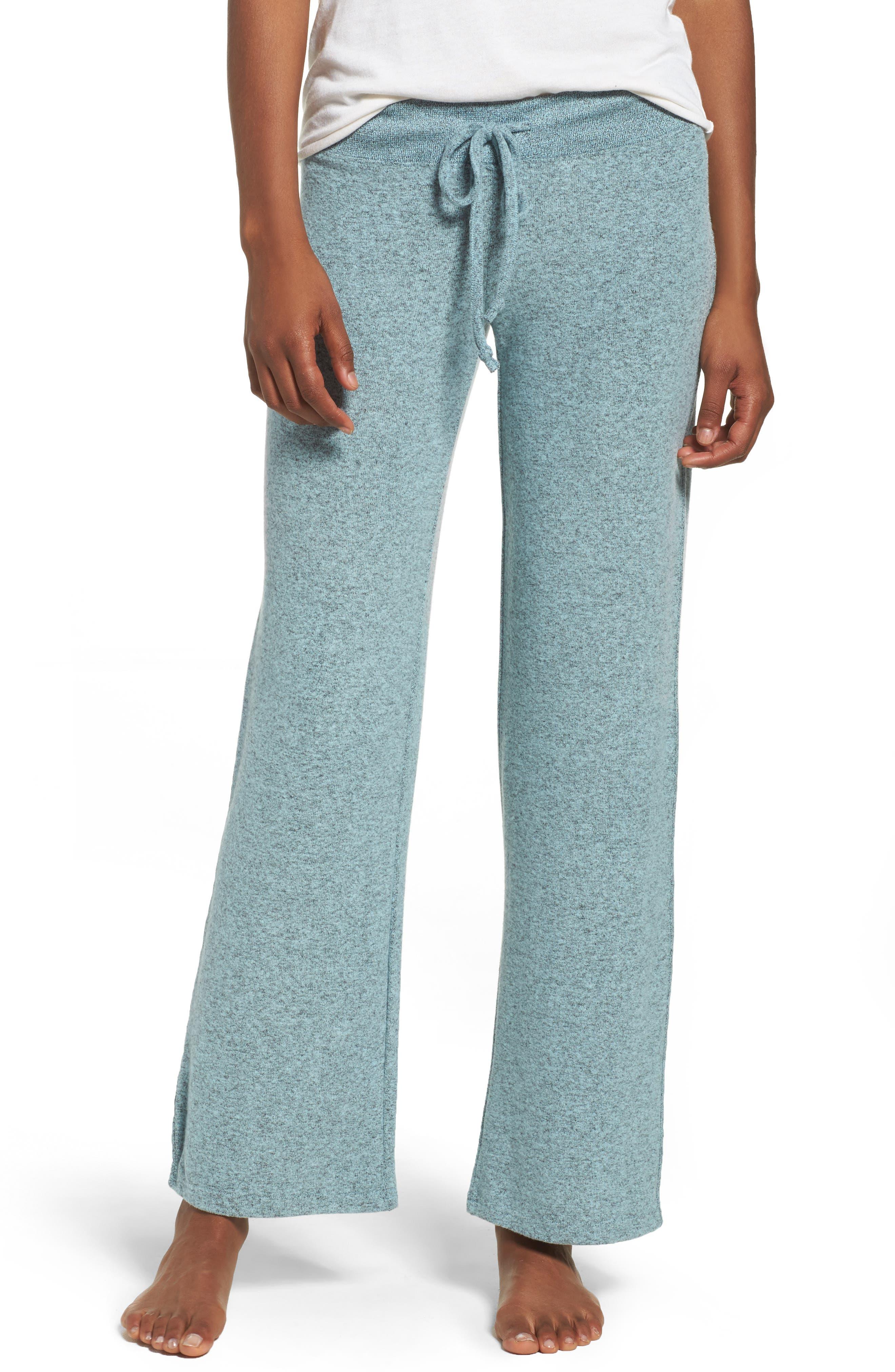 Alternate Image 1 Selected - Make + Model 'Best Boyfriend' Brushed Hacci Lounge Pants
