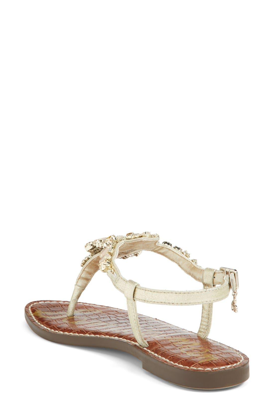 Alternate Image 2  - Sam Edelman 'Dayton' Embellished Sandal (Women)