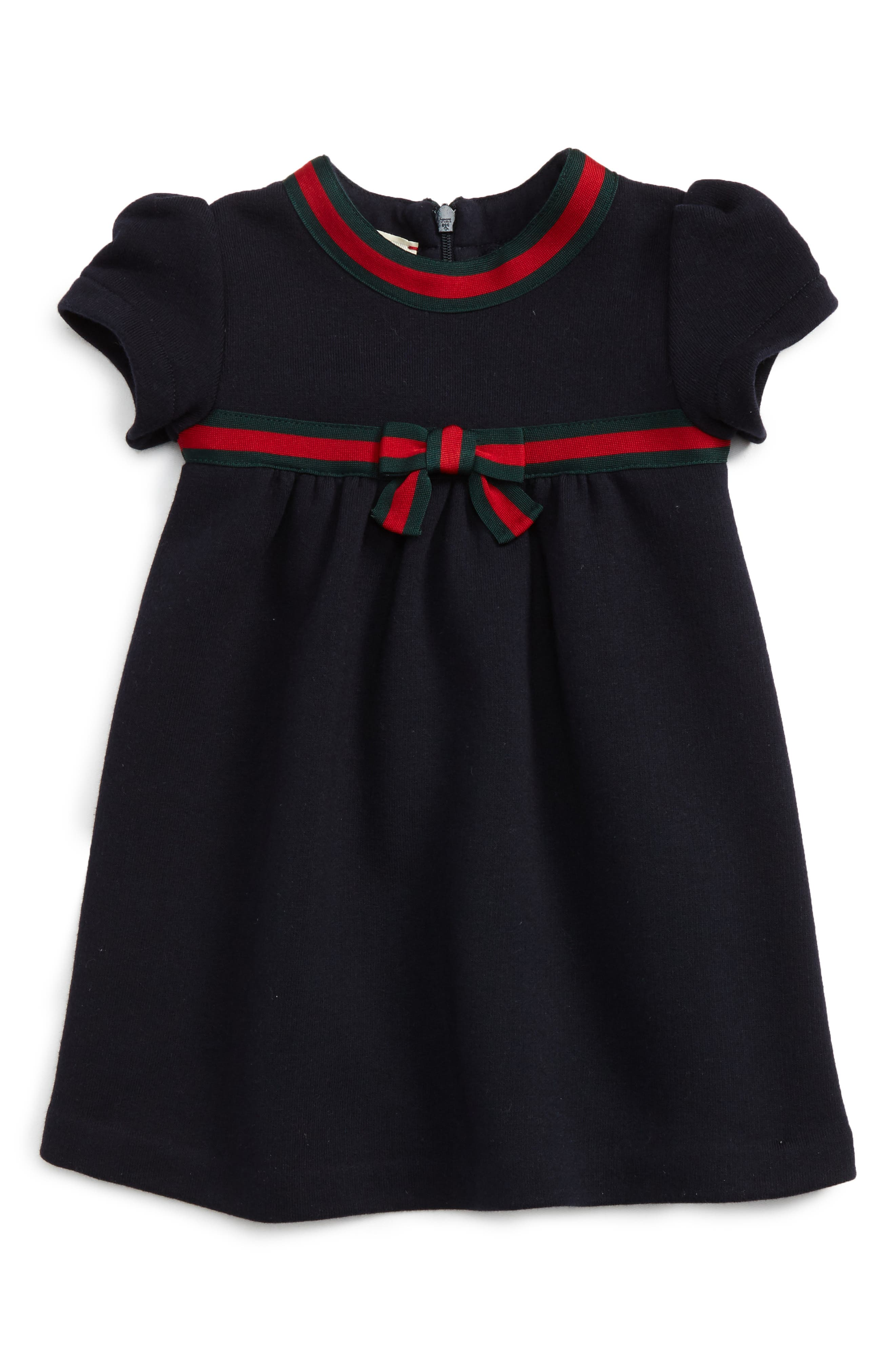 Gucci Stripe Bow Dress (Baby Girls)