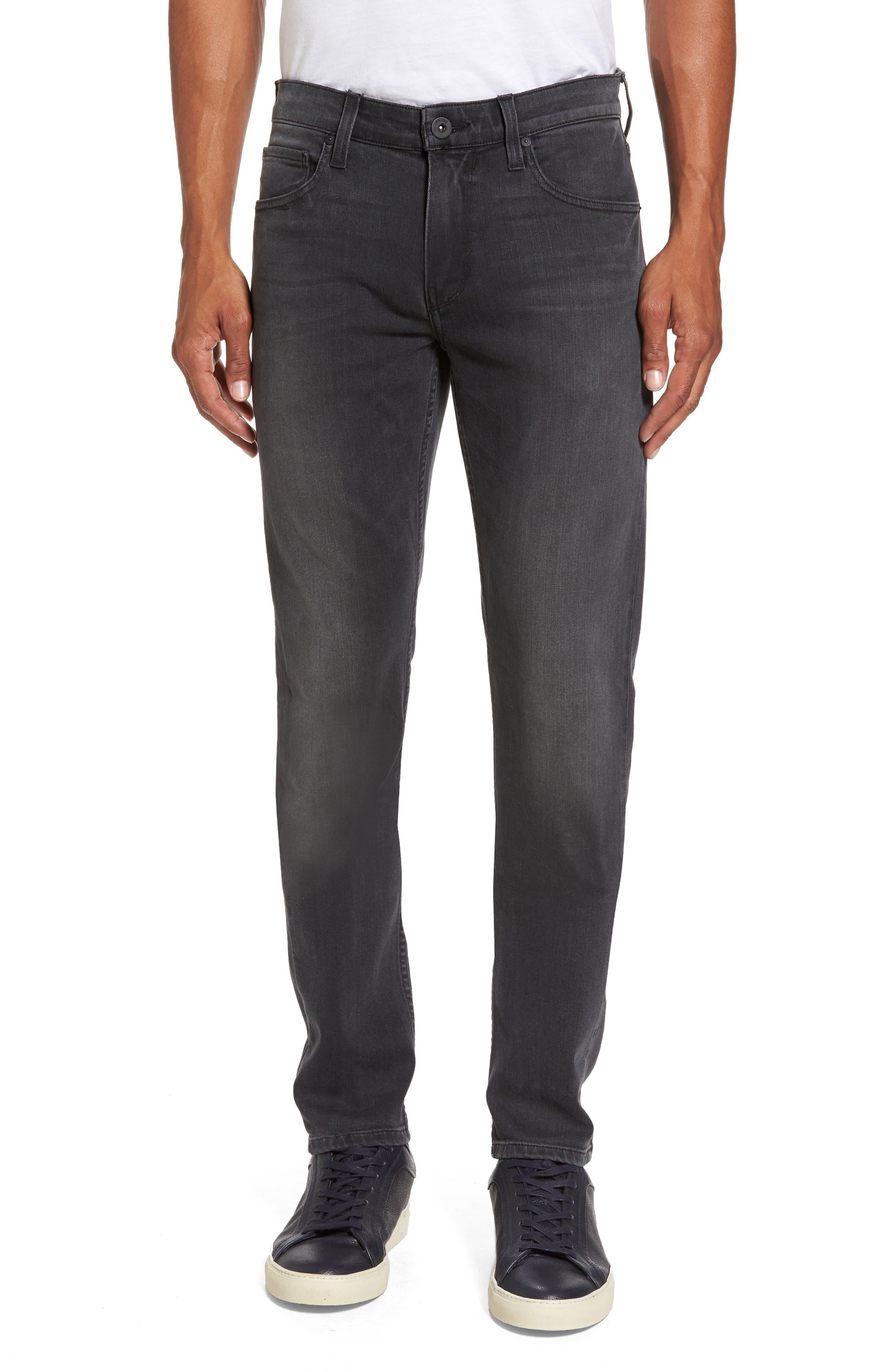 PAIGE Transcend - Croft Skinny Fit Jeans (Langdon)