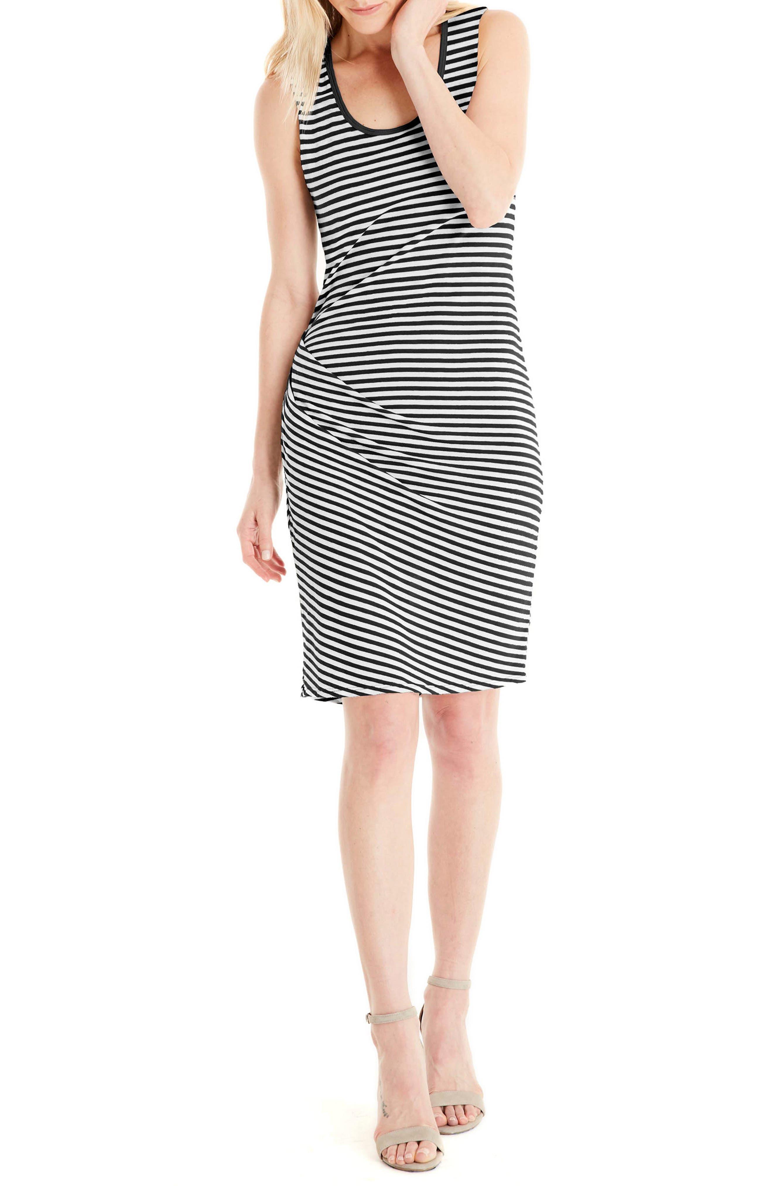 Michael Stars Stripe Tank Dress