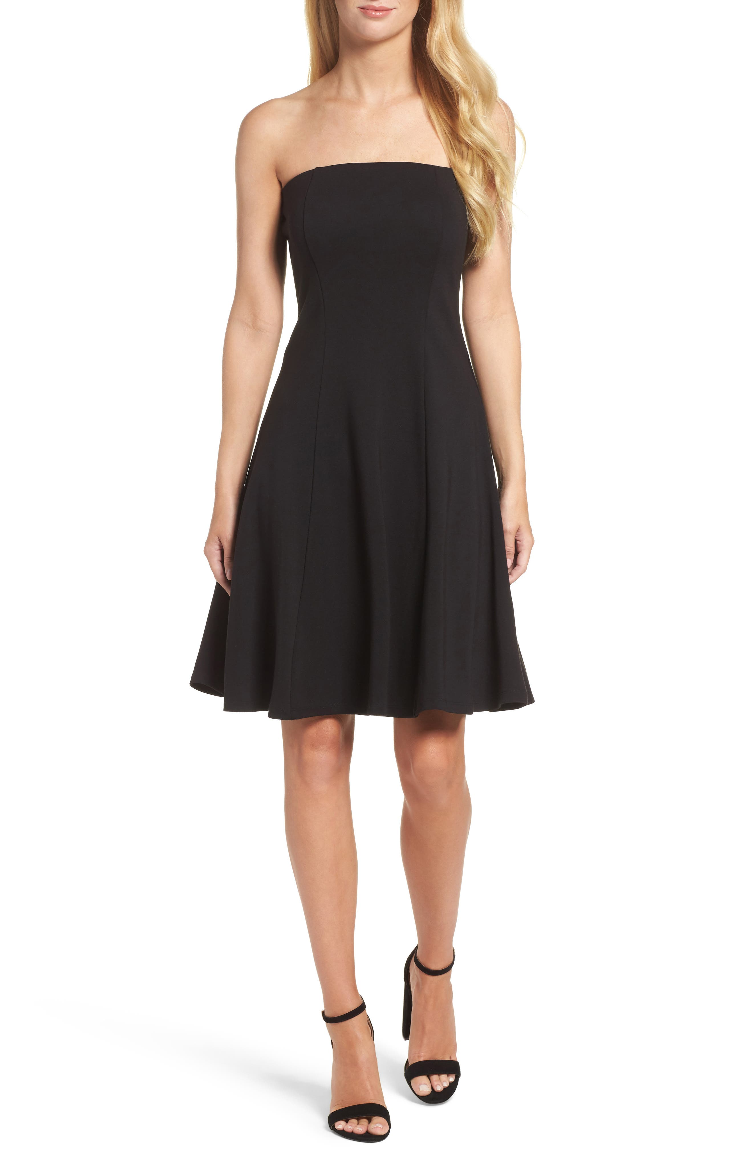 Felicity & Coco Strapless Fit & Flare Dress (Nordstrom Exclusive)