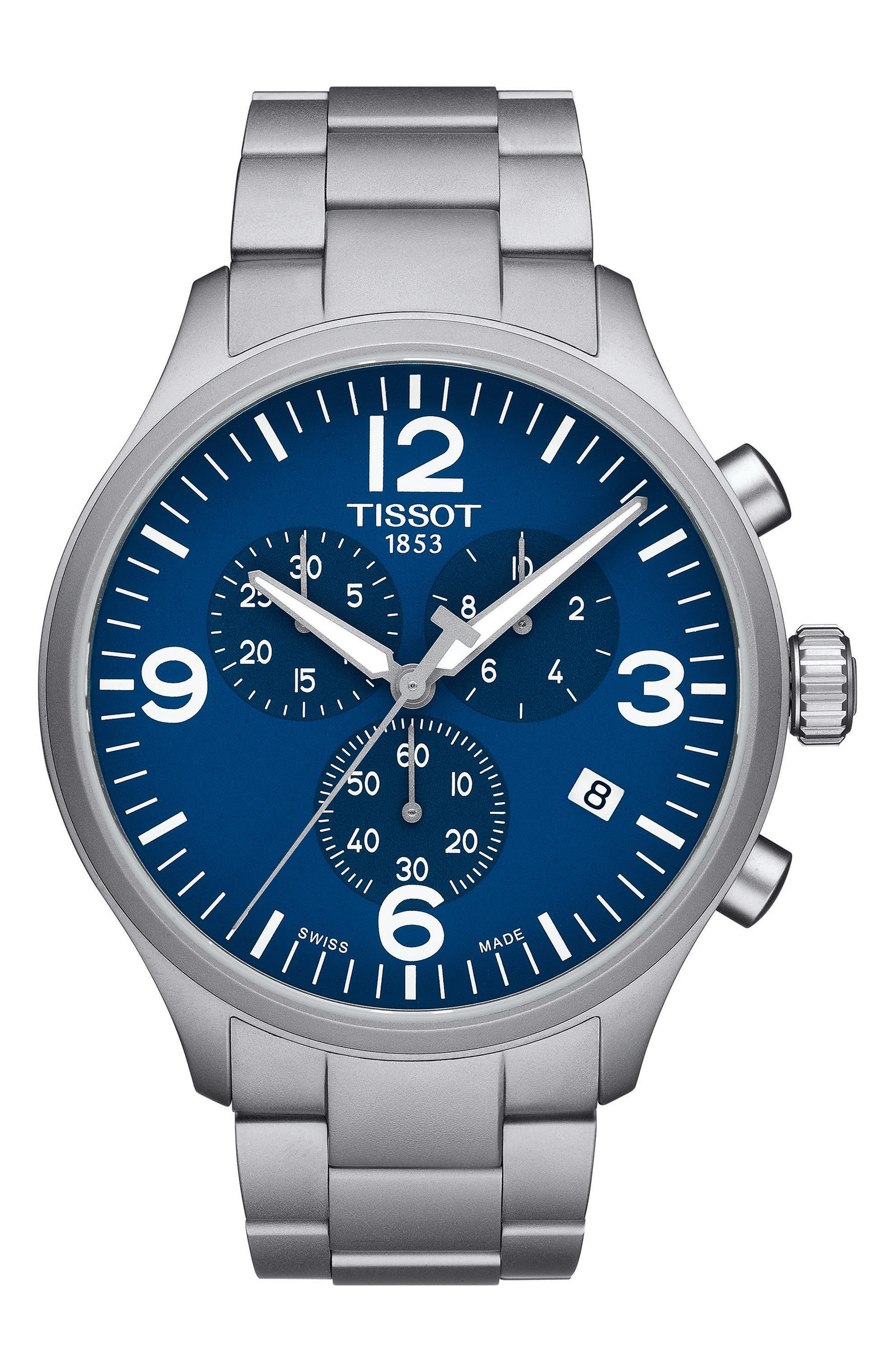 Tissot Chrono XL Chronograph Bracelet Watch, 45mm