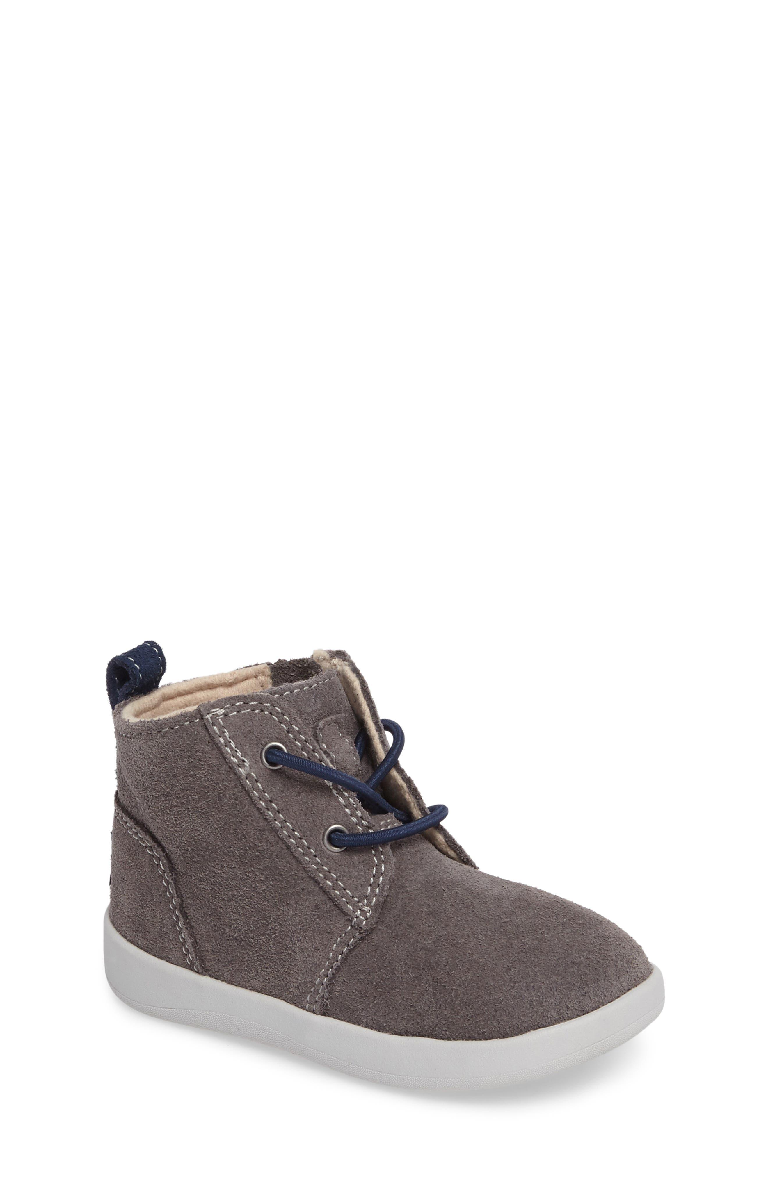 UGG® Kristjan Chukka Bootie Sneaker (Baby, Walker & Toddler)