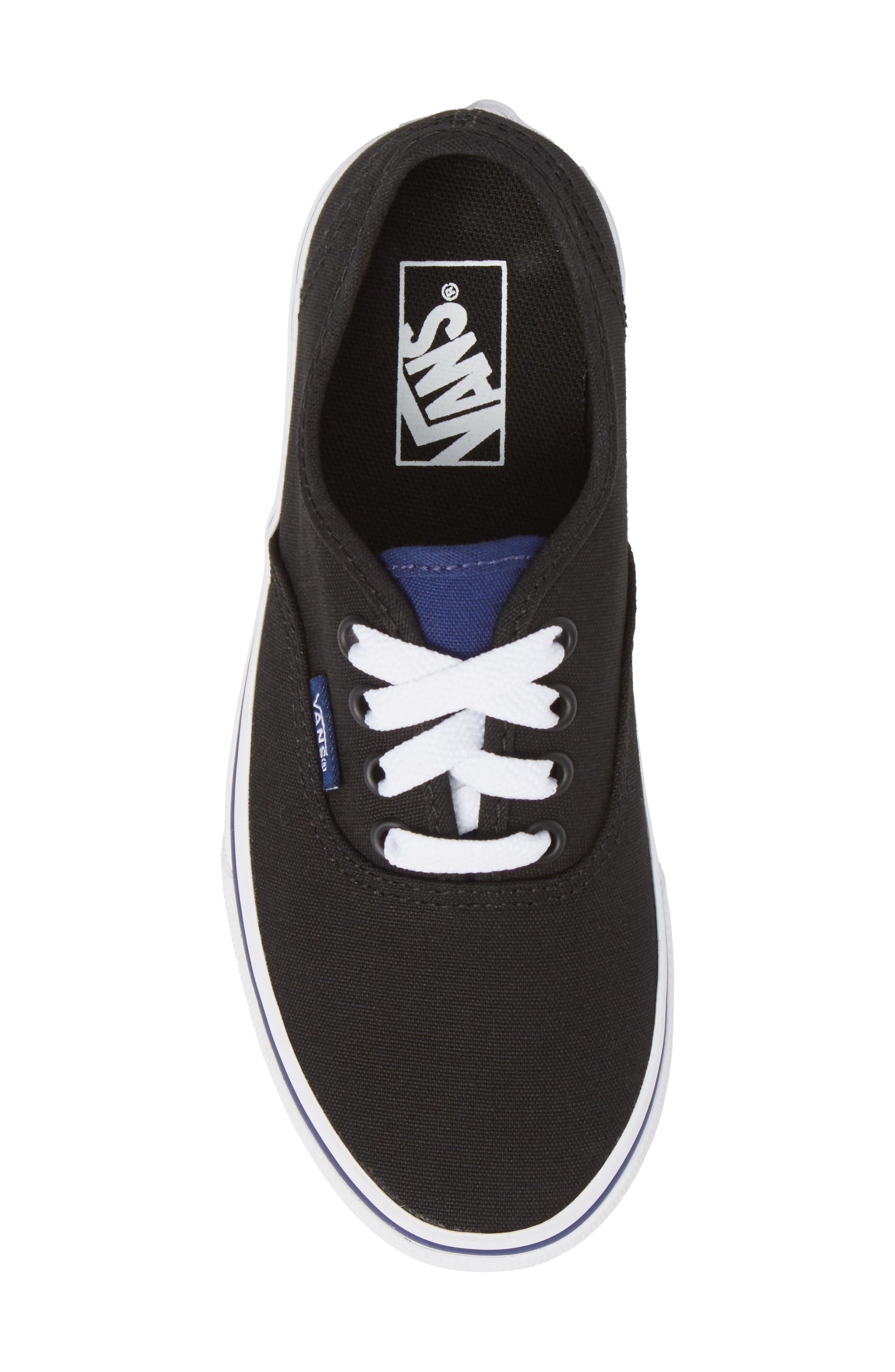 Alternate Image 5  - Vans 'Authentic' Sneaker (Little Kid & Big Kid)