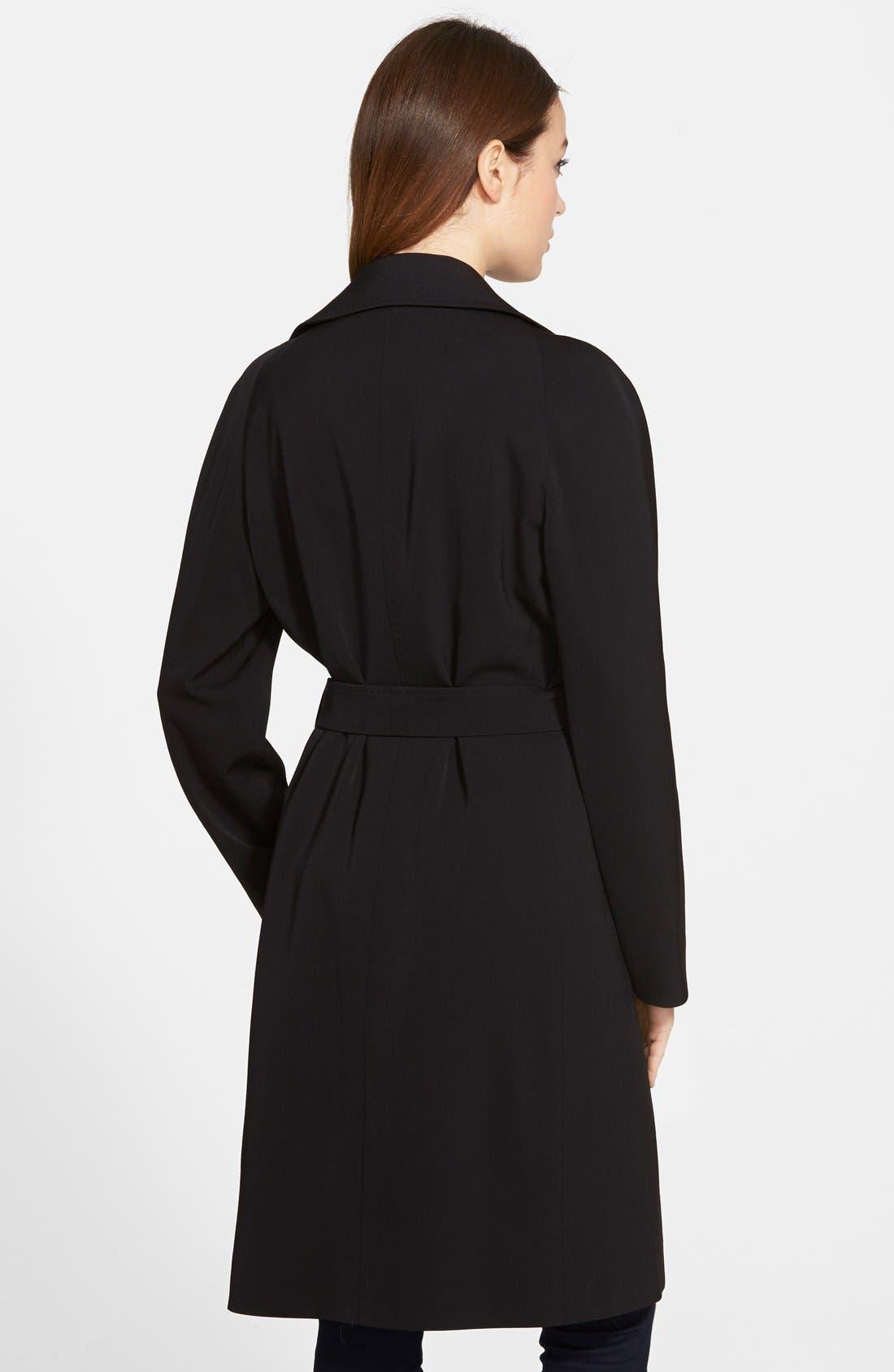 Alternate Image 2  - Cinzia Rocca Wool Wrap Trench Coat