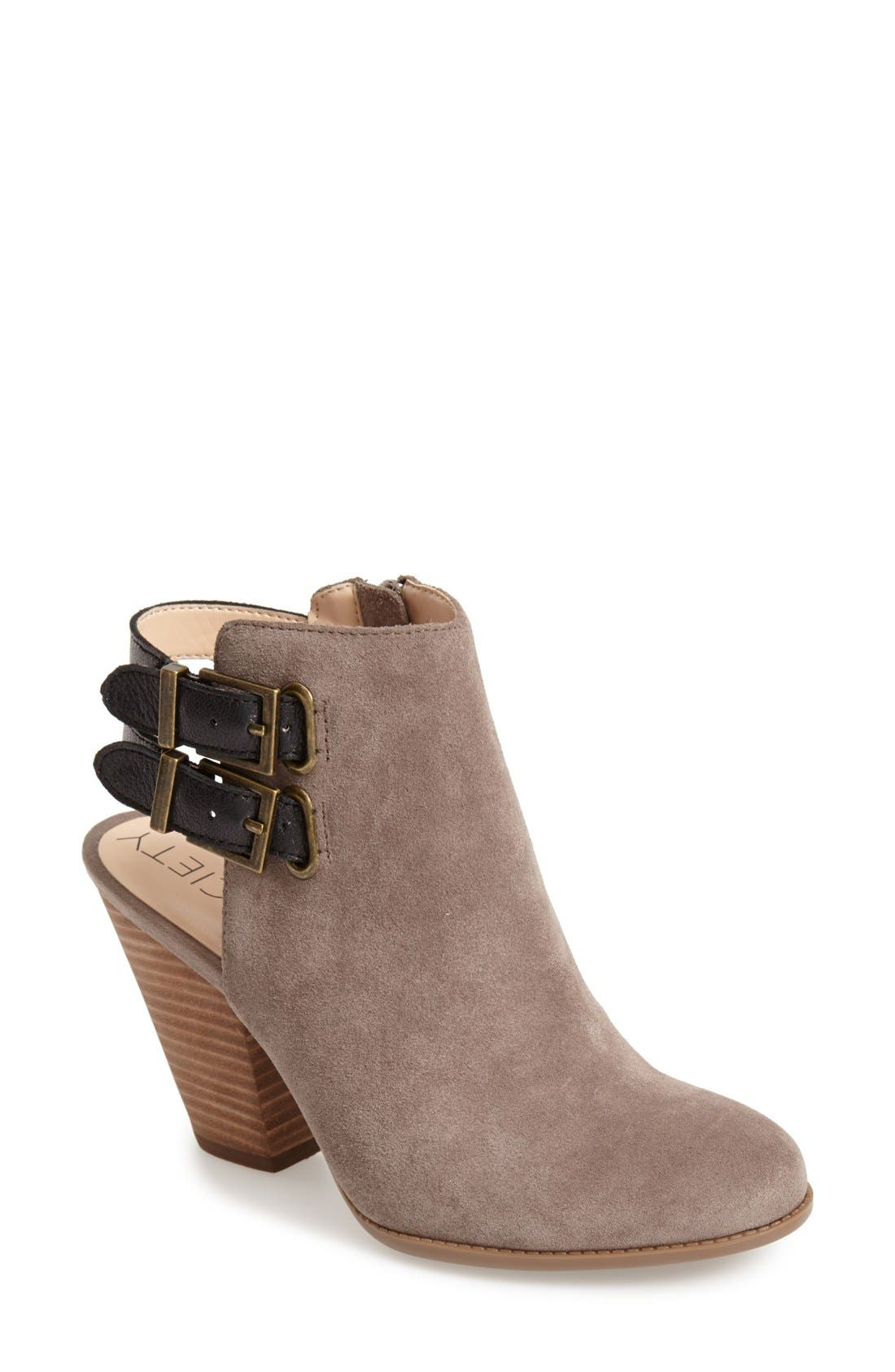 Alternate Image 1 Selected - Sole Society 'Austin' Suede Bootie (Women)
