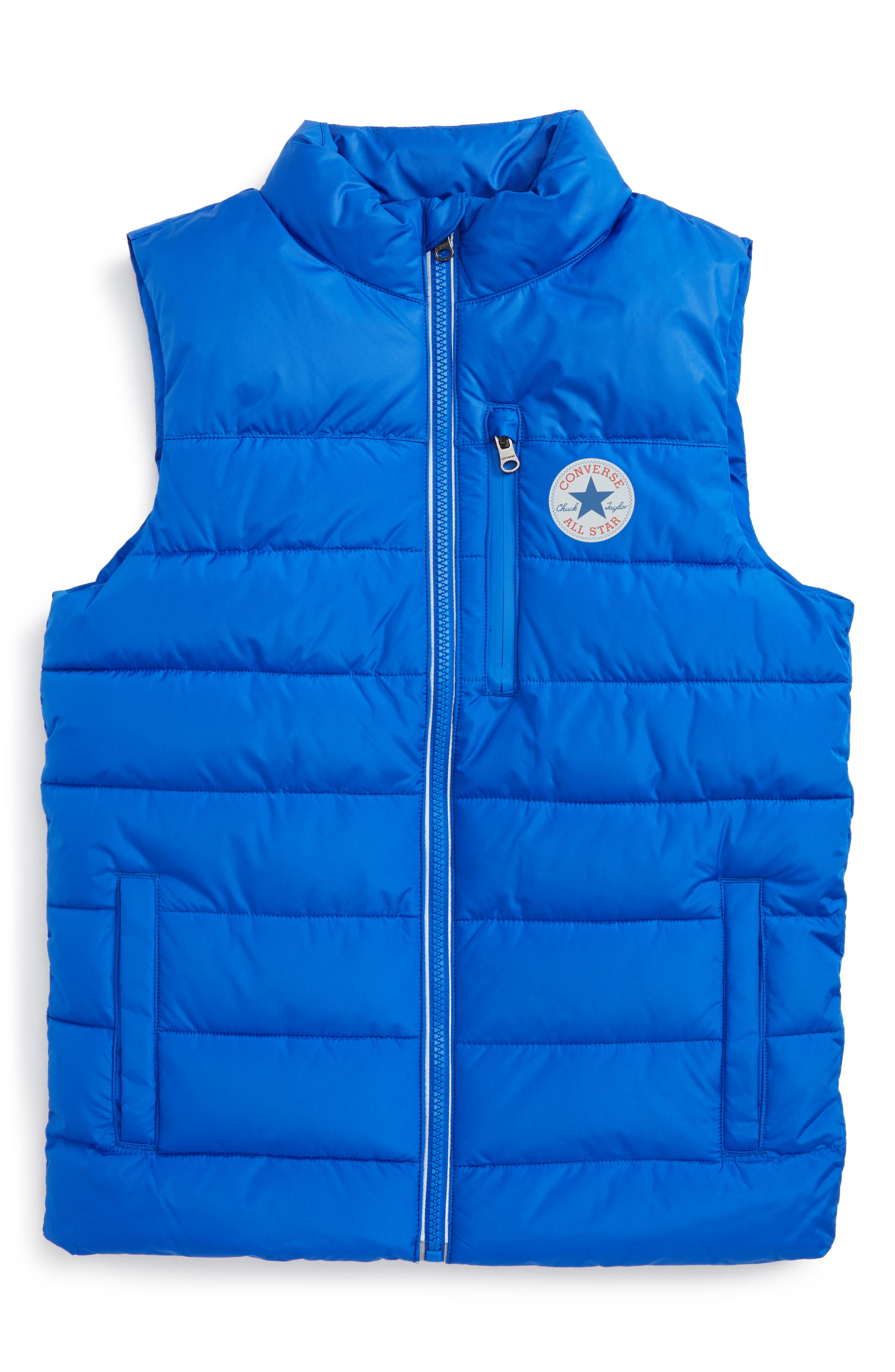 Converse Quilted Vest (Big Boys)