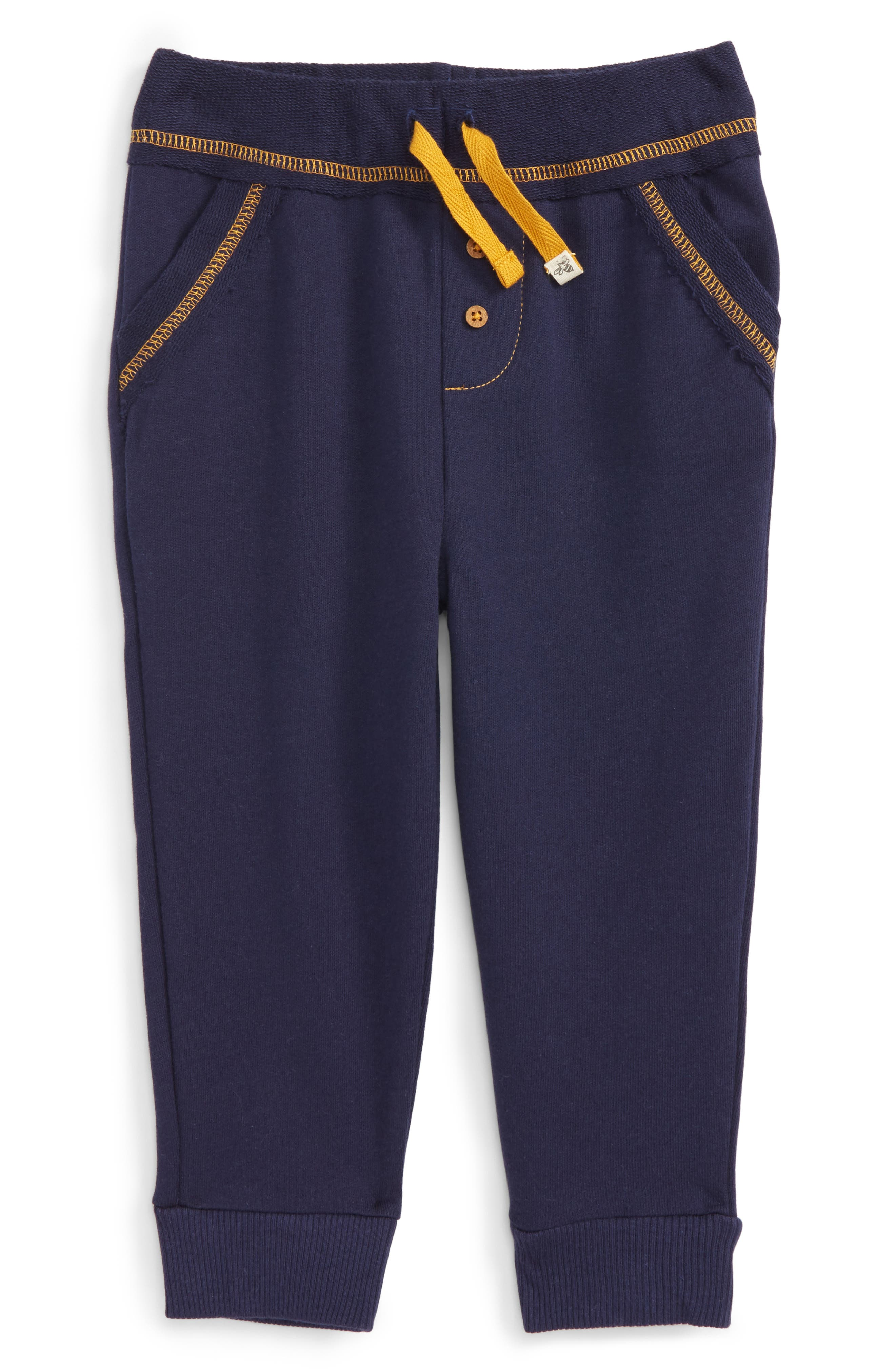 Burt's Bees Baby Reverse Waist Pants (Baby Boys)