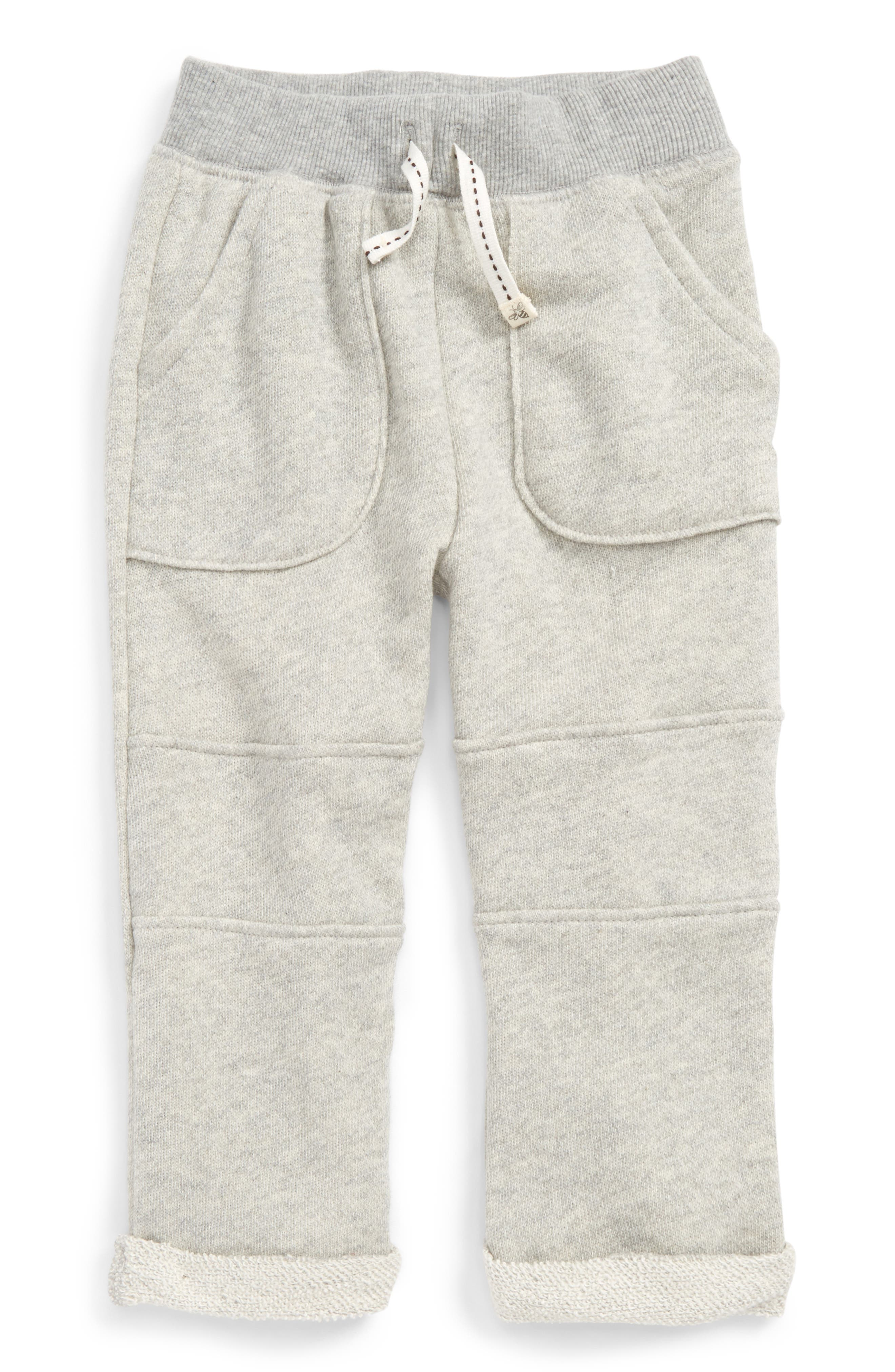 Burt's Bees Baby French Terry Organic Cotton Pants (Baby Boys)