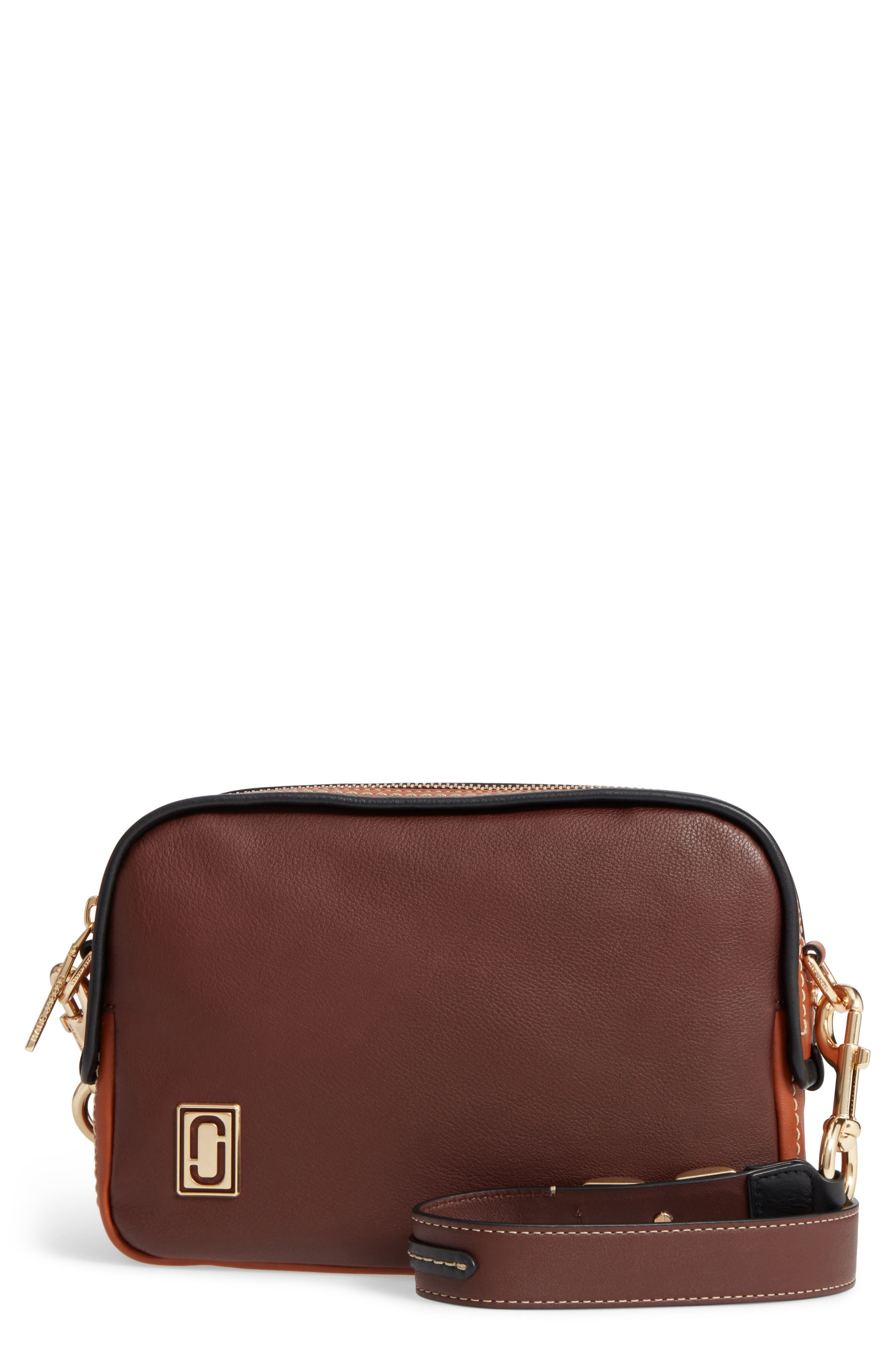 MARC JACOBS The Squeeze Leather Shoulder Bag