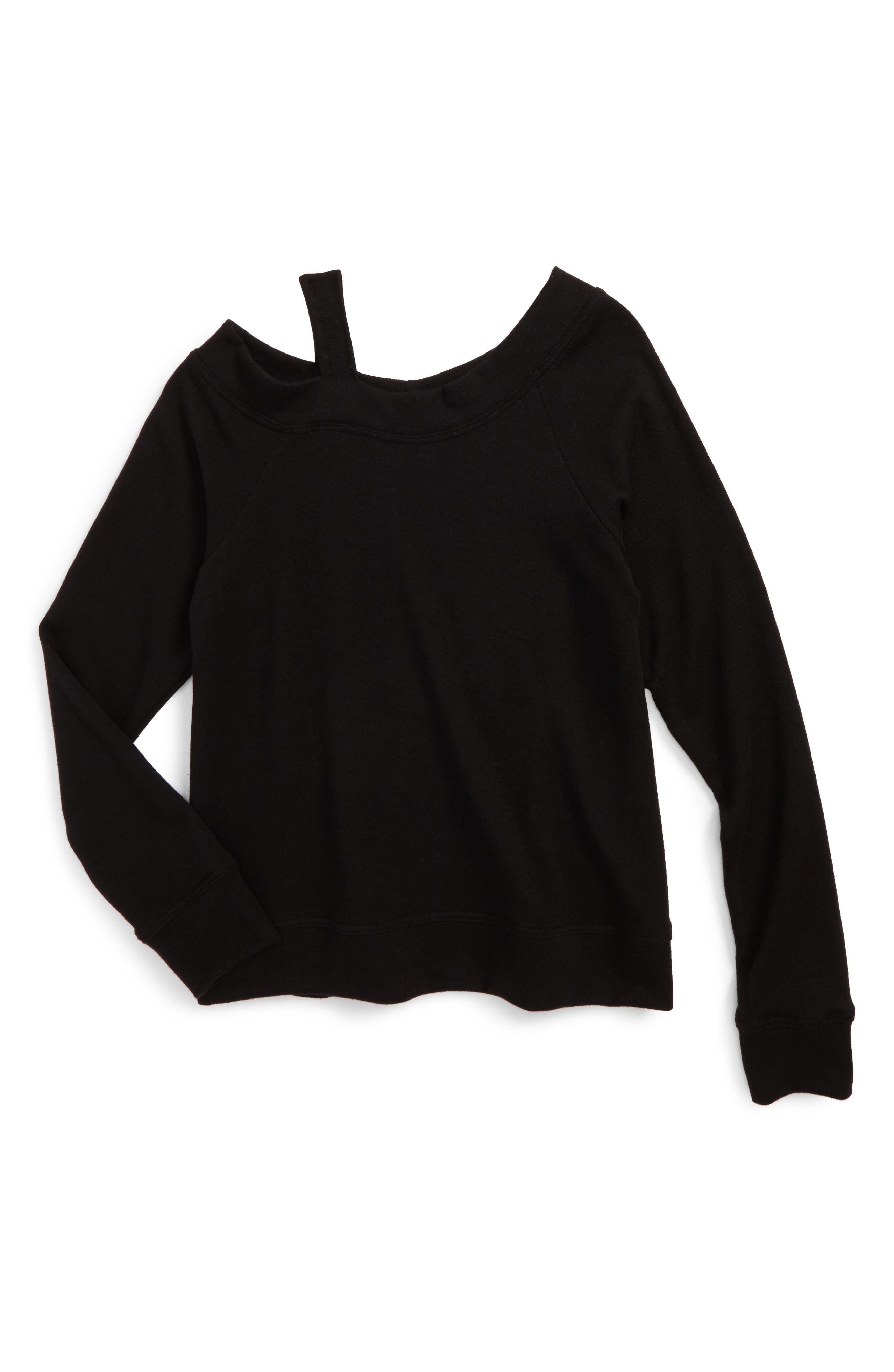 Rosie G Off the Shoulder Sweatshirt (Big Girls)