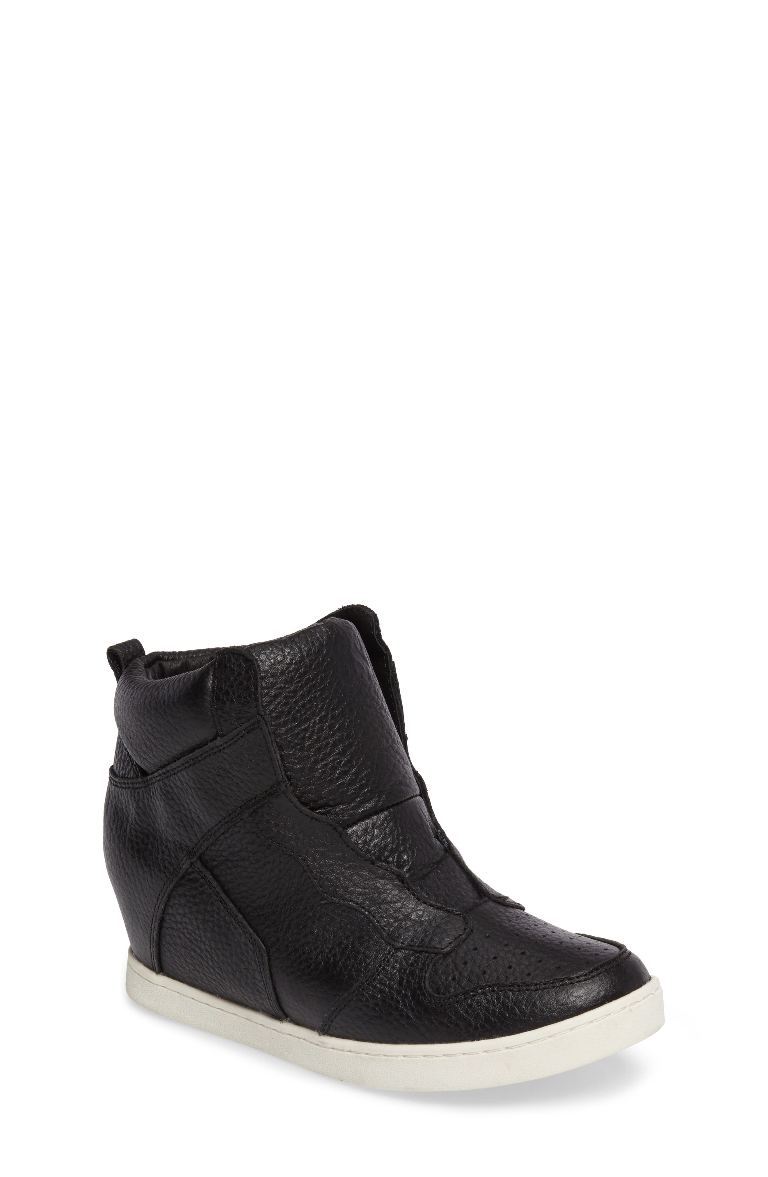 Ash Syndey Laceless Concealed Wedge Bootie (Toddler, Little Kid & Big Kid)